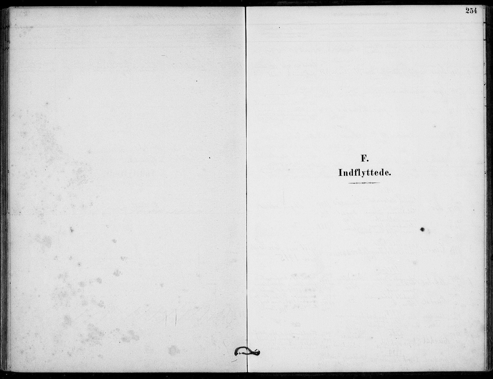 SAKO, Hjartdal kirkebøker, F/Fb/L0002: Ministerialbok nr. II 2, 1880-1932, s. 254
