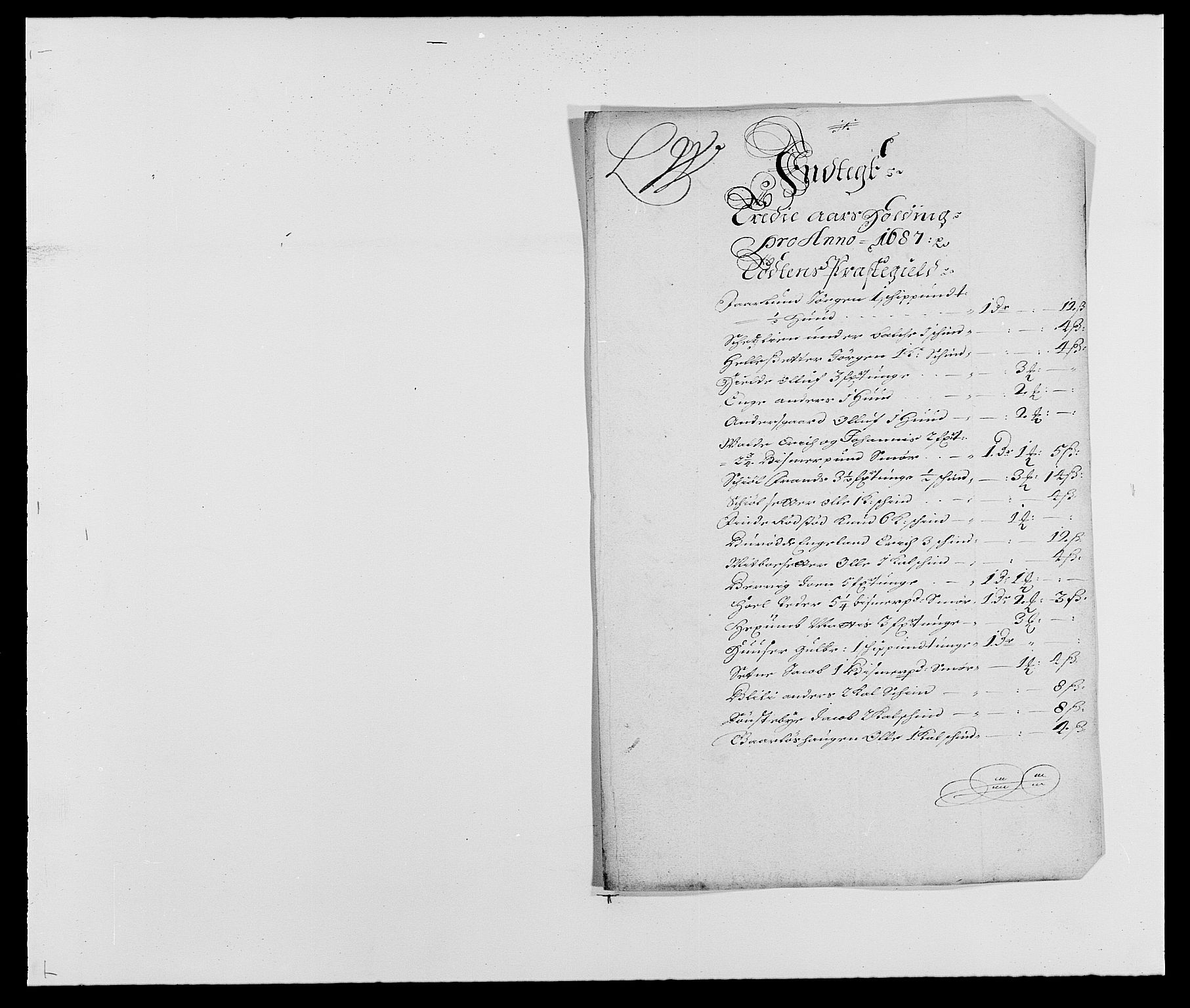 RA, Rentekammeret inntil 1814, Reviderte regnskaper, Fogderegnskap, R18/L1286: Fogderegnskap Hadeland, Toten og Valdres, 1687, s. 144