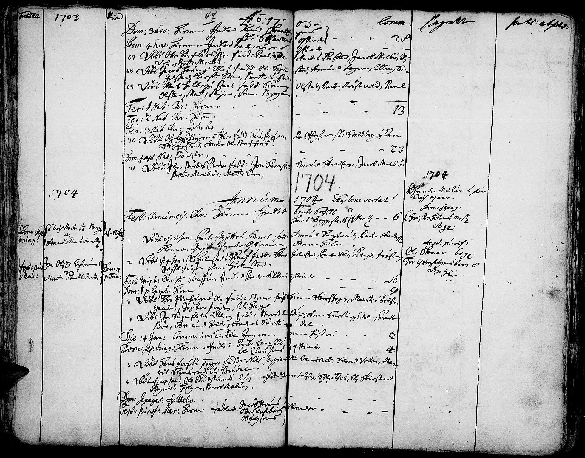 SAH, Gausdal prestekontor, Ministerialbok nr. 1, 1693-1728, s. 47