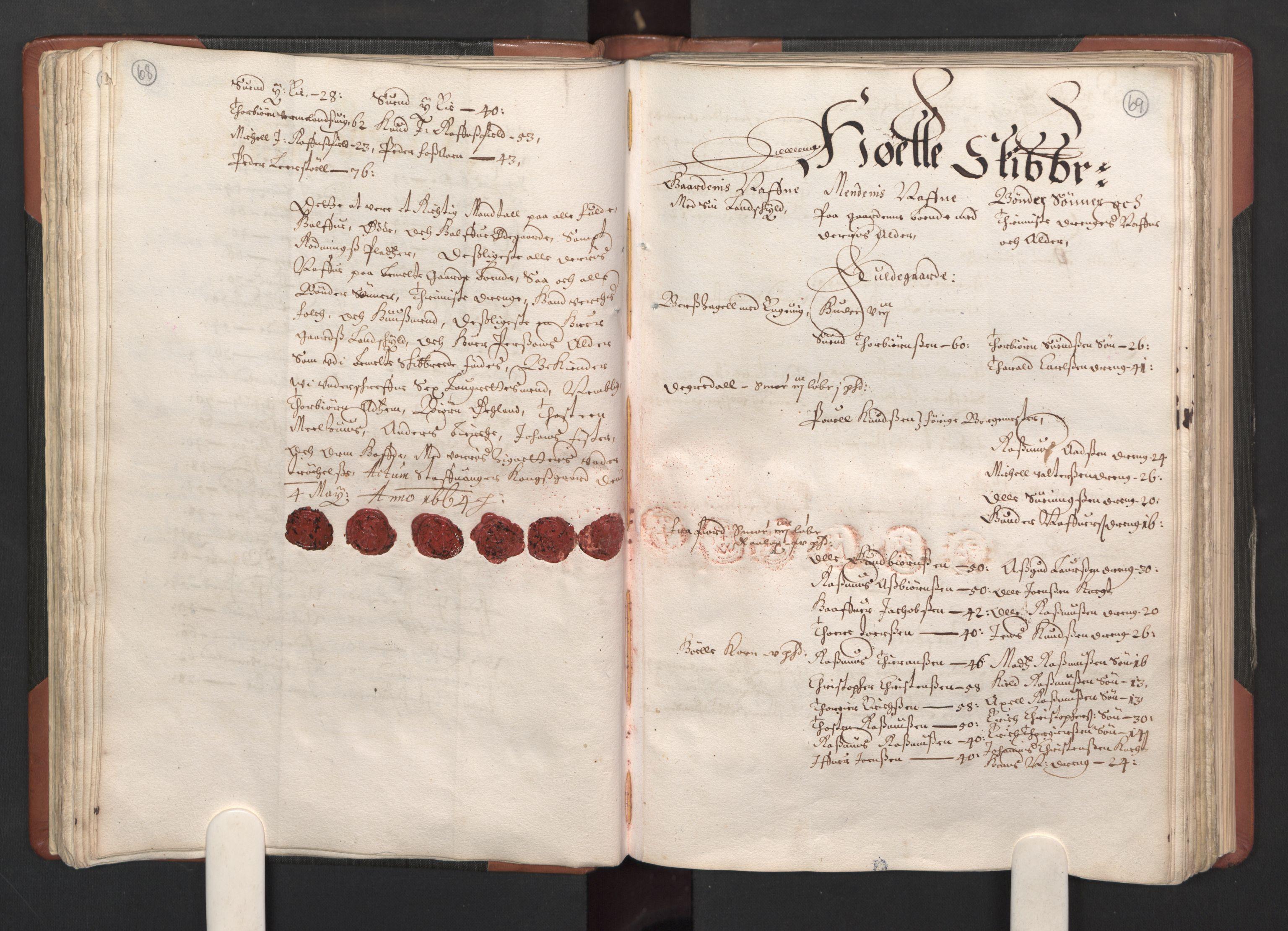 RA, Fogdenes og sorenskrivernes manntall 1664-1666, nr. 12: Ryfylke fogderi, 1664, s. 68-69