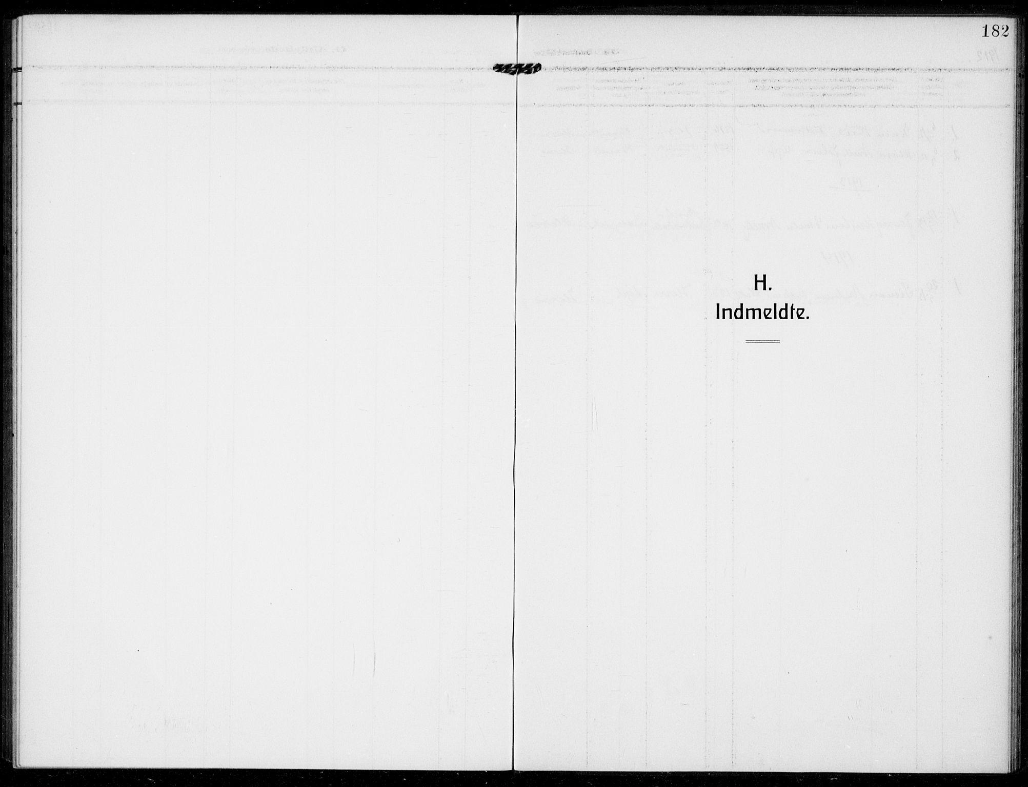 SAKO, Bamble kirkebøker, F/Fc/L0001: Ministerialbok nr. III 1, 1909-1916, s. 182