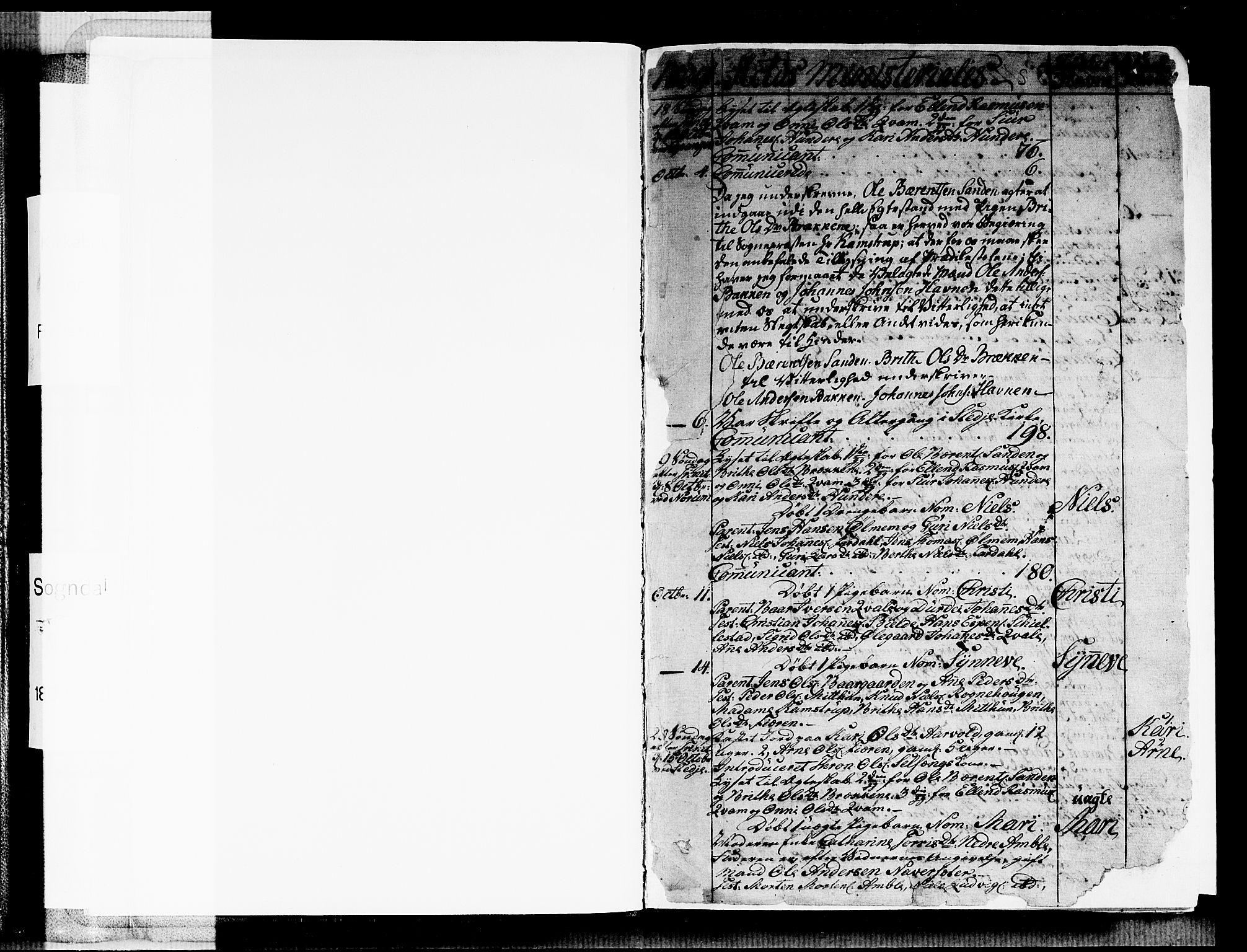 SAB, Sogndal sokneprestembete, H/Haa/Haaa/L0009: Ministerialbok nr. A 9, 1809-1821, s. 2