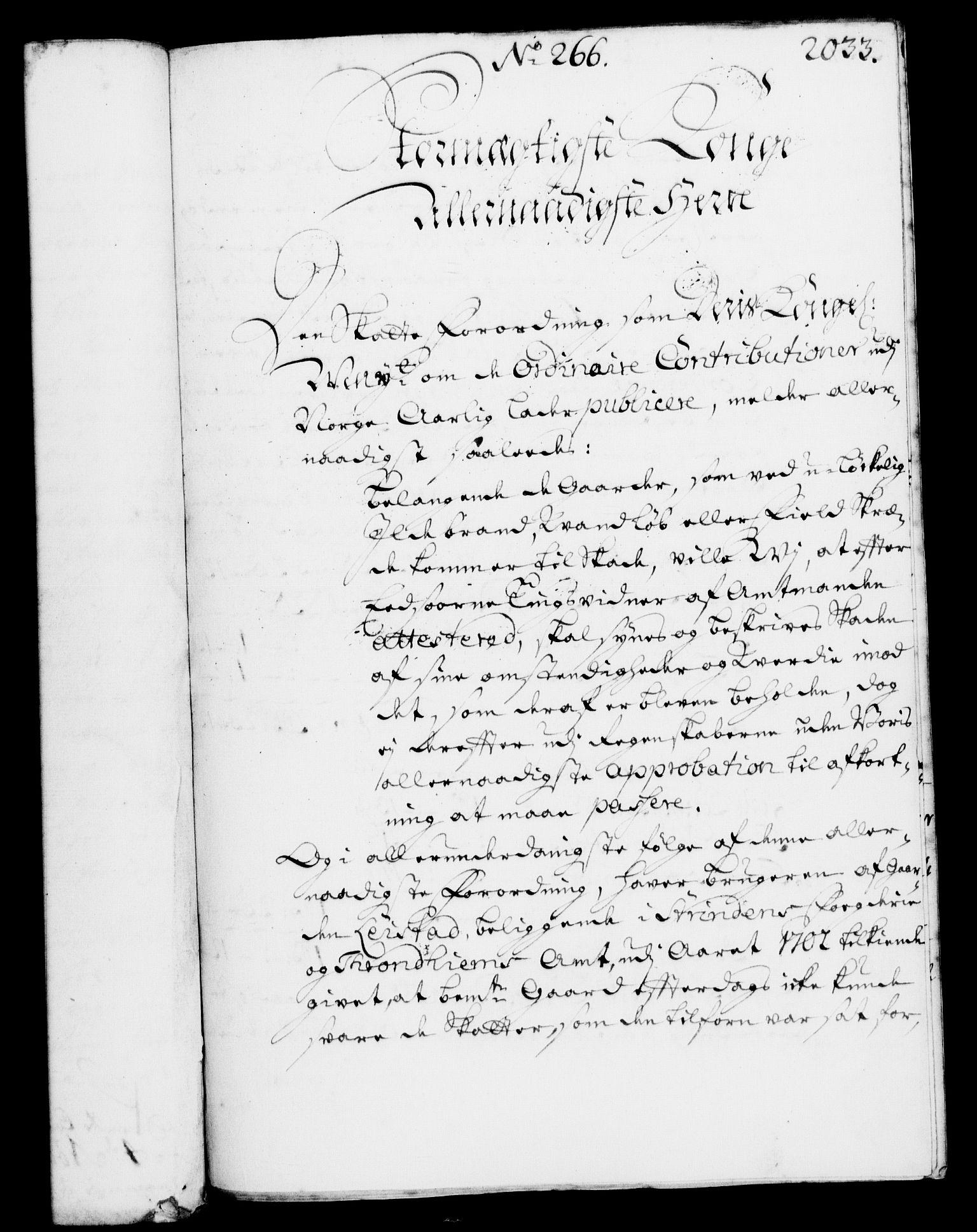 RA, Rentekammeret, Kammerkanselliet, G/Gf/Gfa/L0003: Norsk relasjons- og resolusjonsprotokoll (merket RK 52.3), 1720, s. 1001