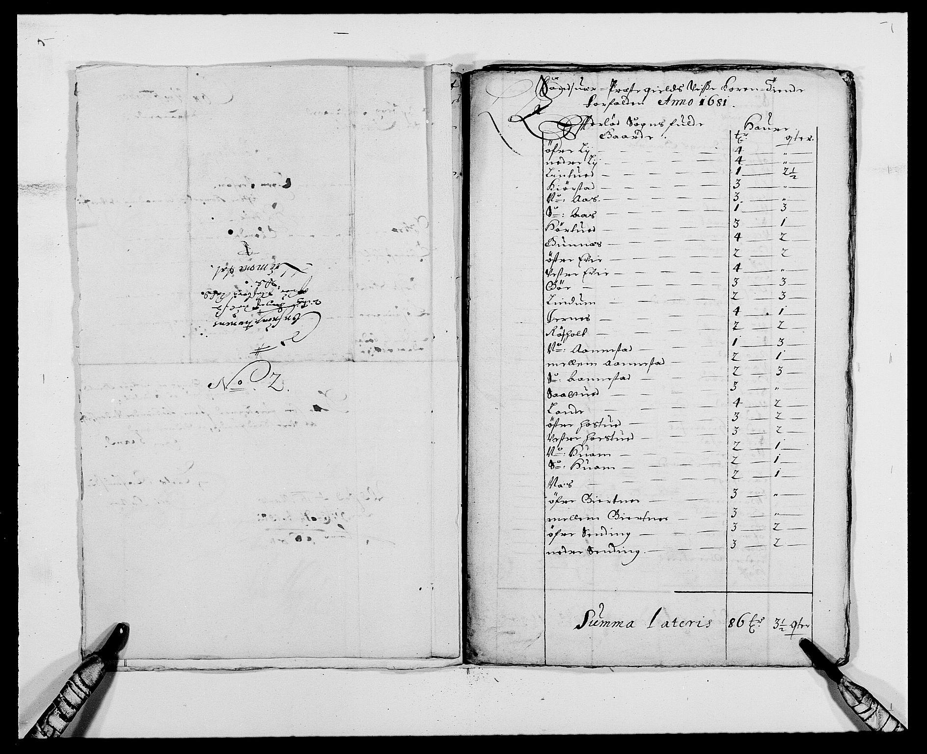 RA, Rentekammeret inntil 1814, Reviderte regnskaper, Fogderegnskap, R24/L1569: Fogderegnskap Numedal og Sandsvær, 1679-1686, s. 385