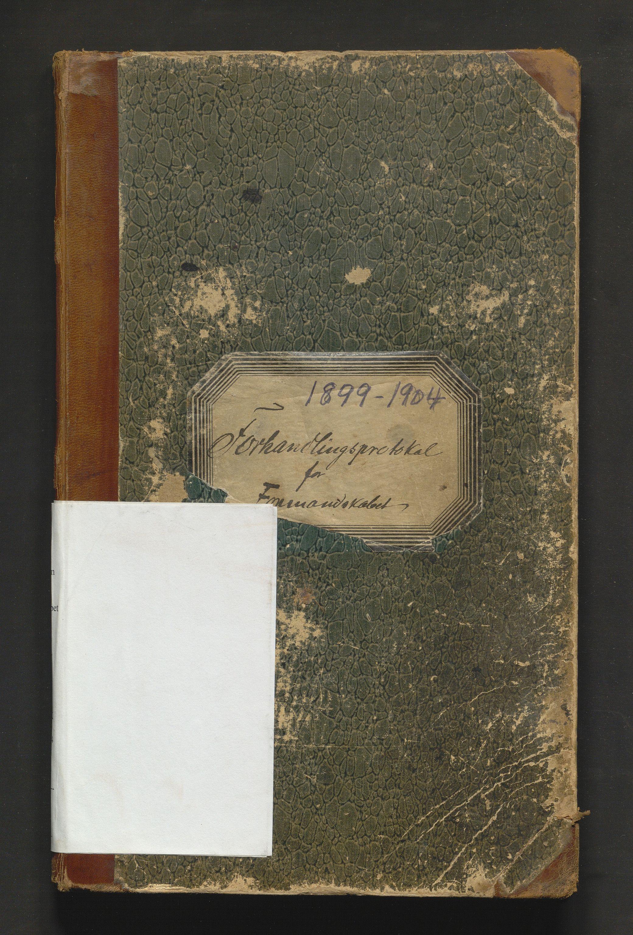 IKAH, Strandebarm kommune. Formannskapet, A/Aa/L0005: Møtebok for formannskap og heradsstyre, 1899-1904