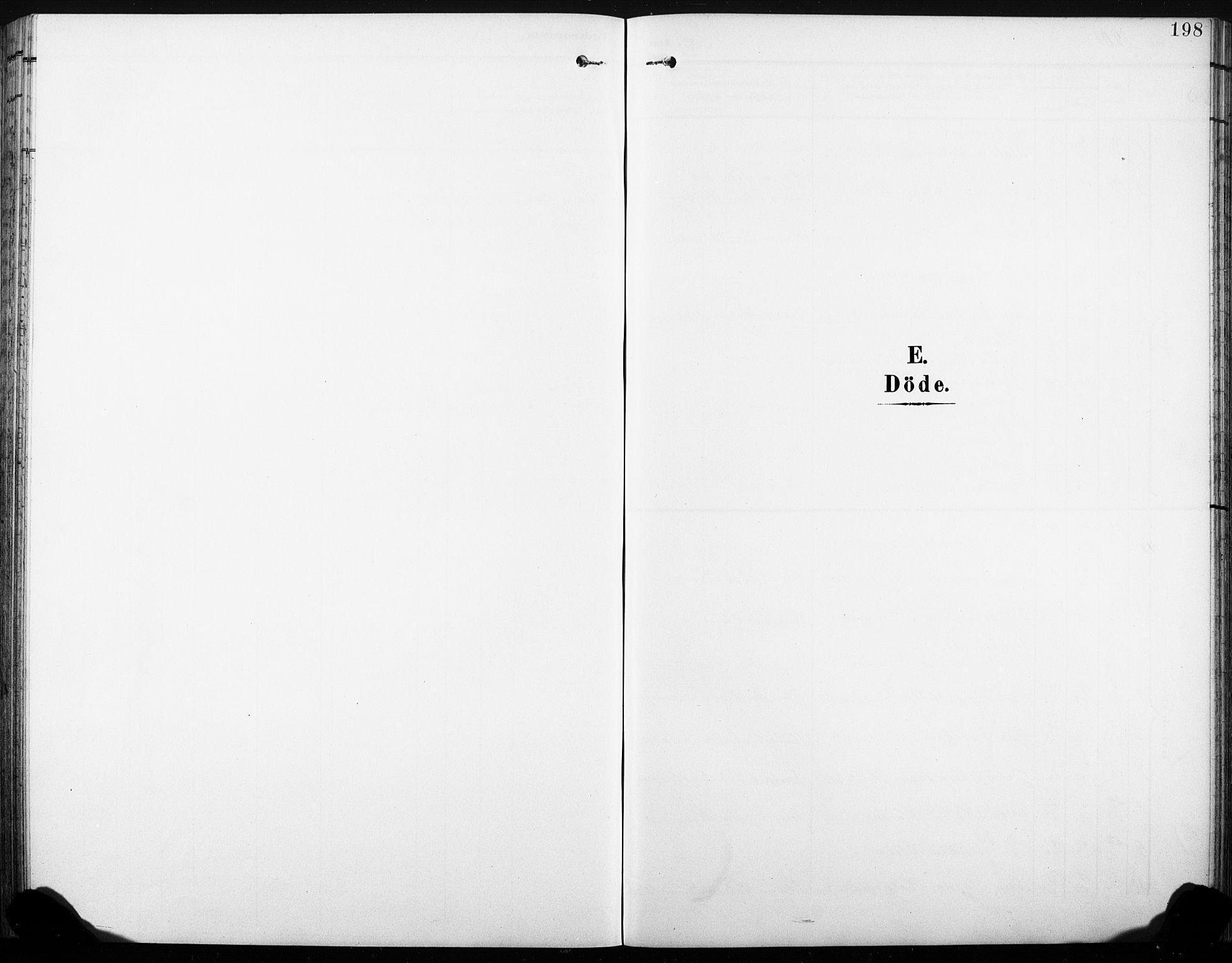 SAKO, Sandsvær kirkebøker, G/Gd/L0004a: Klokkerbok nr. IV 4A, 1901-1932, s. 198
