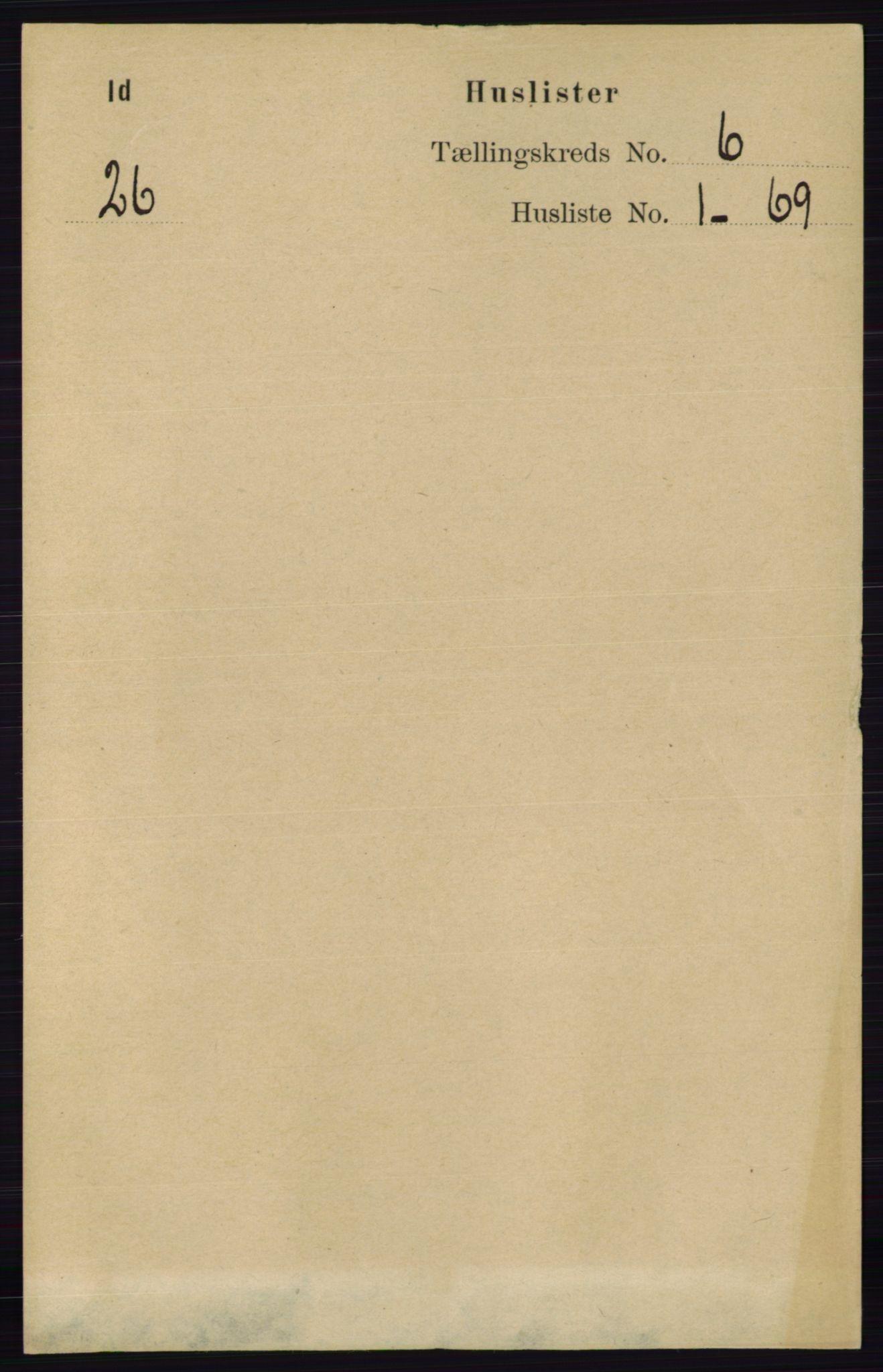 RA, Folketelling 1891 for 0117 Idd herred, 1891, s. 3501