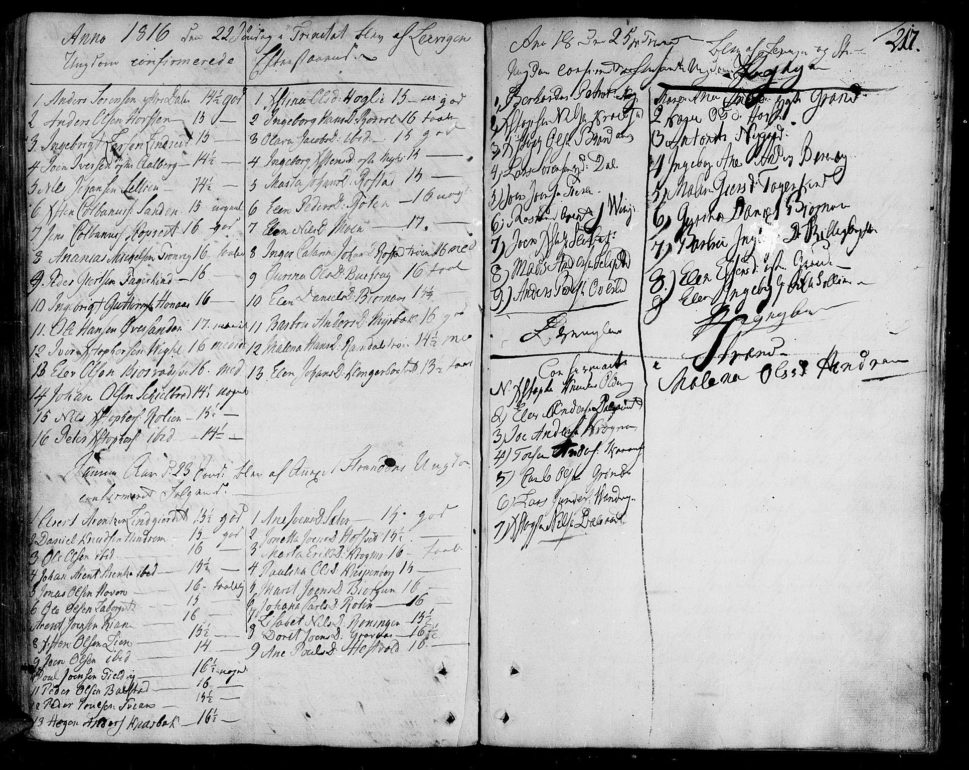 SAT, Ministerialprotokoller, klokkerbøker og fødselsregistre - Nord-Trøndelag, 701/L0004: Ministerialbok nr. 701A04, 1783-1816, s. 217
