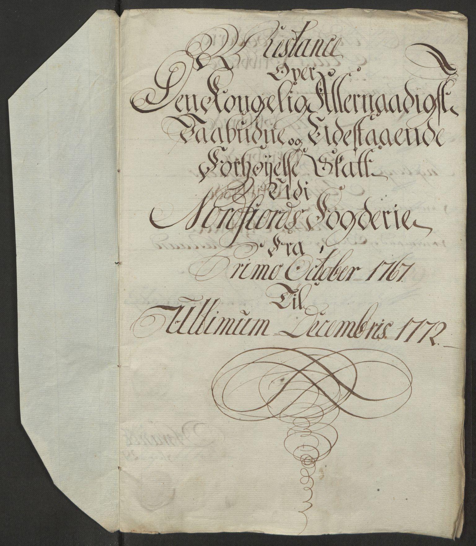 RA, Rentekammeret inntil 1814, Reviderte regnskaper, Fogderegnskap, R53/L3551: Ekstraskatten Sunn- og Nordfjord, 1772, s. 293