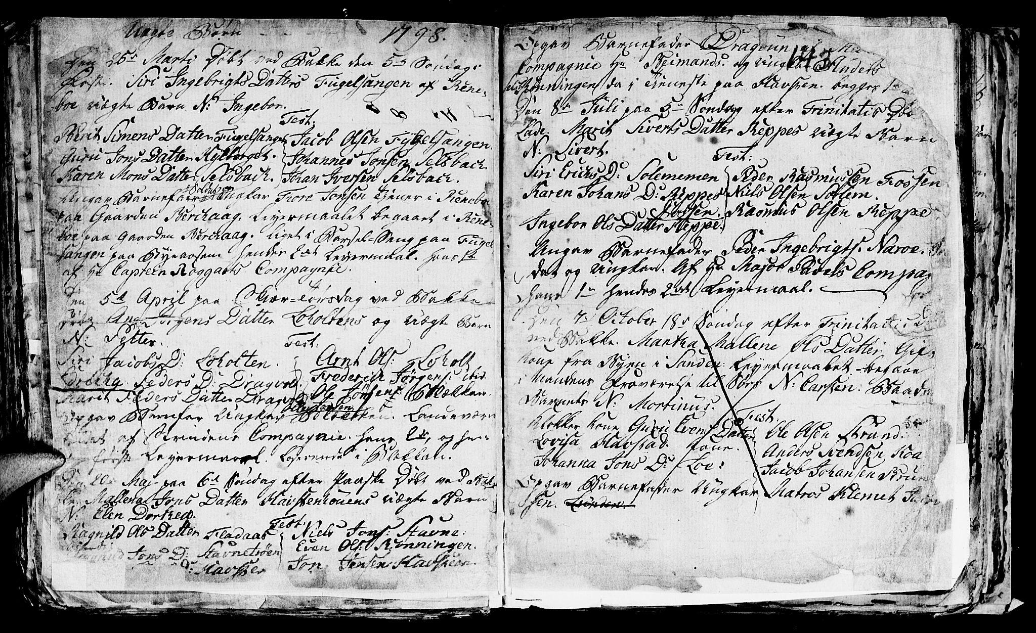 SAT, Ministerialprotokoller, klokkerbøker og fødselsregistre - Sør-Trøndelag, 606/L0305: Klokkerbok nr. 606C01, 1757-1819, s. 143