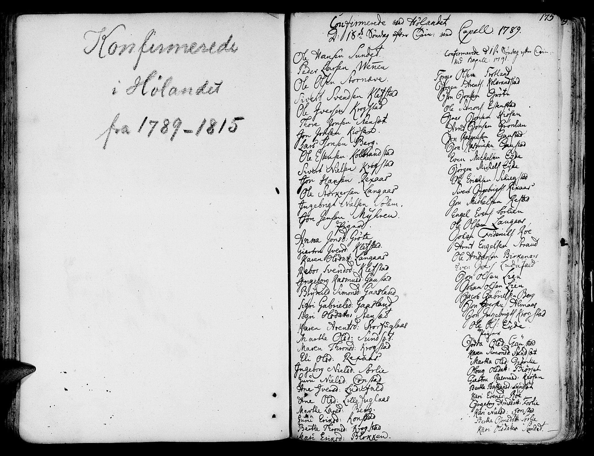SAT, Ministerialprotokoller, klokkerbøker og fødselsregistre - Sør-Trøndelag, 691/L1064: Ministerialbok nr. 691A02 /4, 1768-1815, s. 175