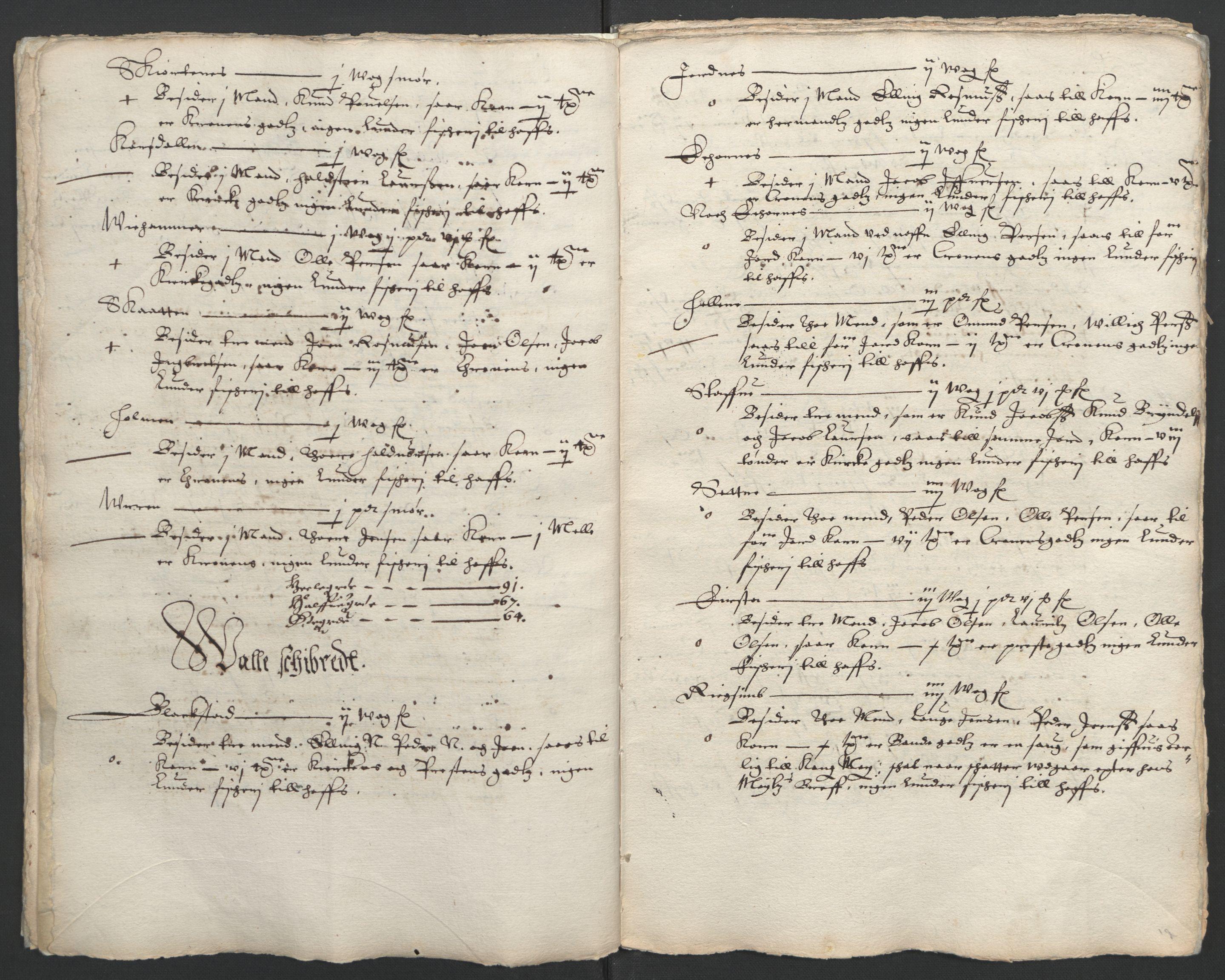 RA, Stattholderembetet 1572-1771, Ek/L0005: Jordebøker til utlikning av garnisonsskatt 1624-1626:, 1626, s. 158