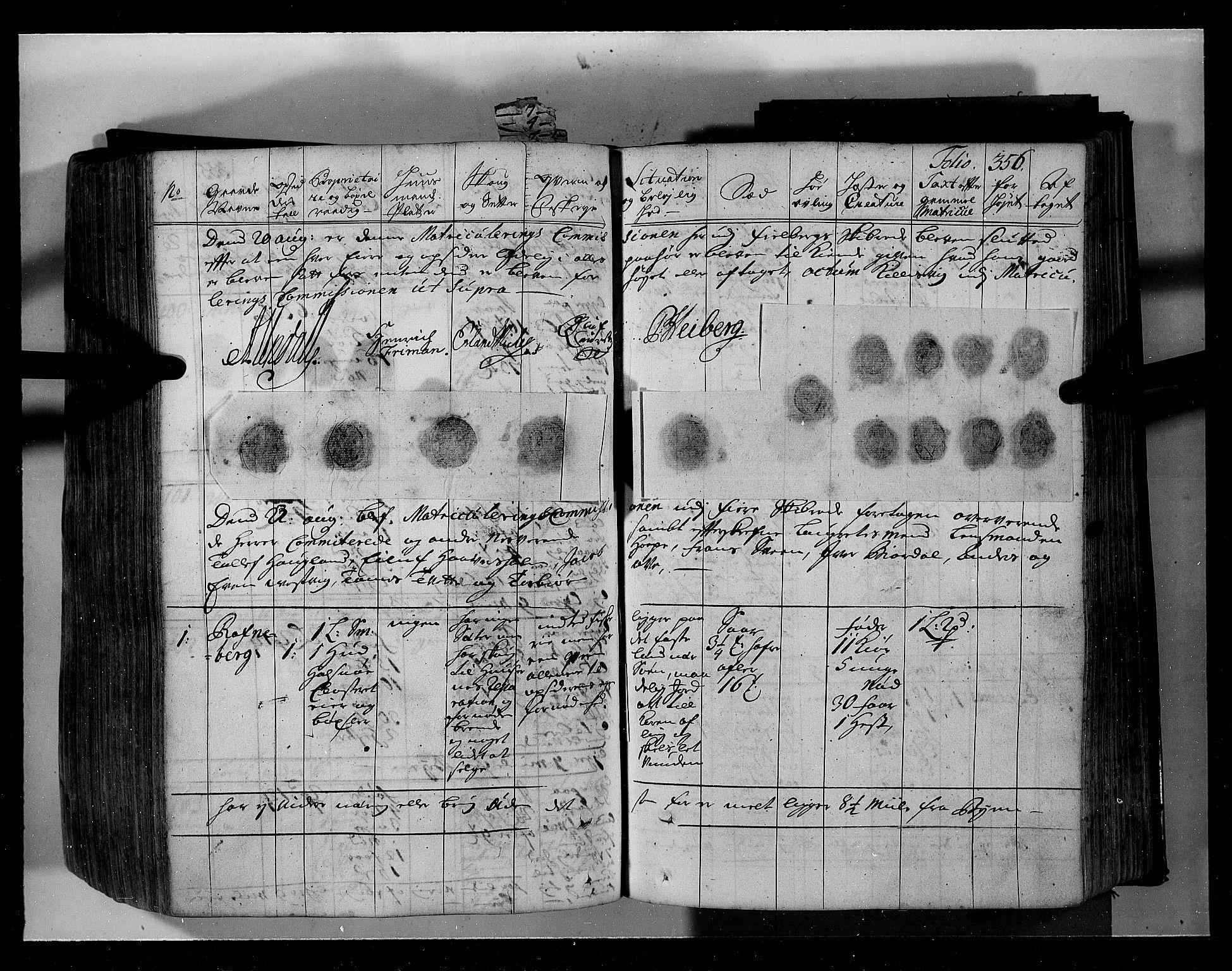 RA, Rentekammeret inntil 1814, Realistisk ordnet avdeling, N/Nb/Nbf/L0134: Sunnhordland eksaminasjonsprotokoll, 1723, s. 355b-356a