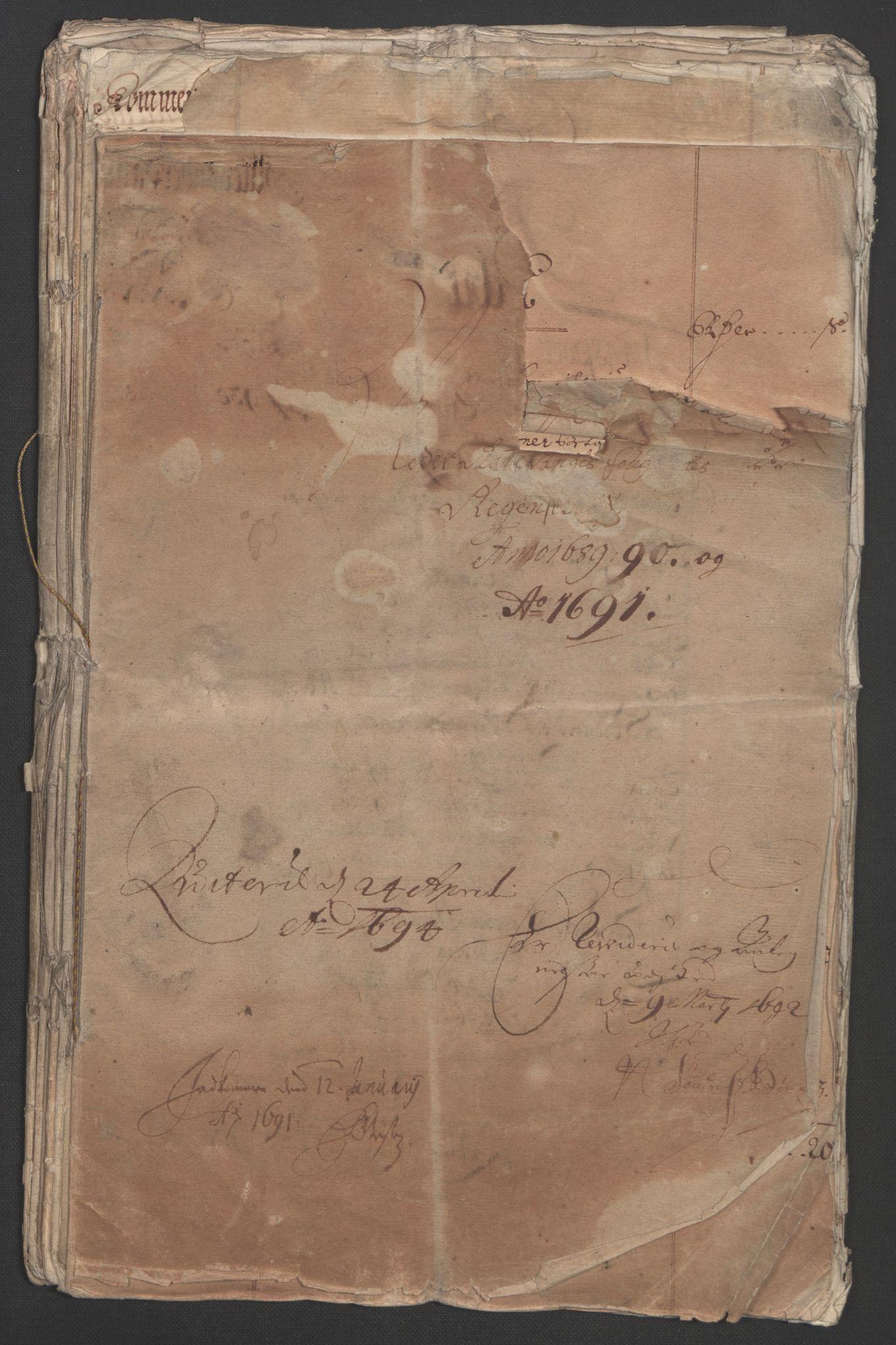 RA, Rentekammeret inntil 1814, Reviderte regnskaper, Fogderegnskap, R11/L0576: Fogderegnskap Nedre Romerike, 1682-1691, s. 4