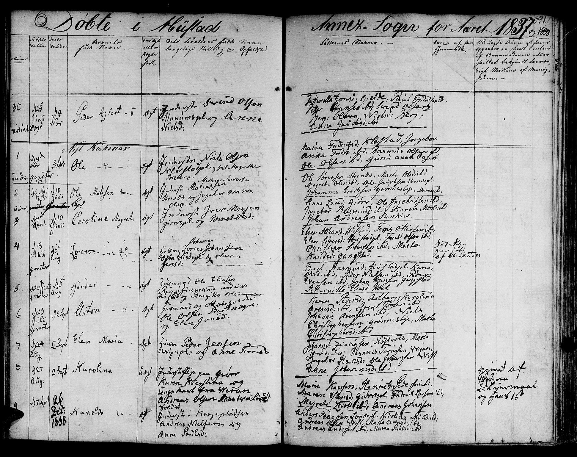 SAT, Ministerialprotokoller, klokkerbøker og fødselsregistre - Nord-Trøndelag, 730/L0277: Ministerialbok nr. 730A06 /3, 1830-1839, s. 391
