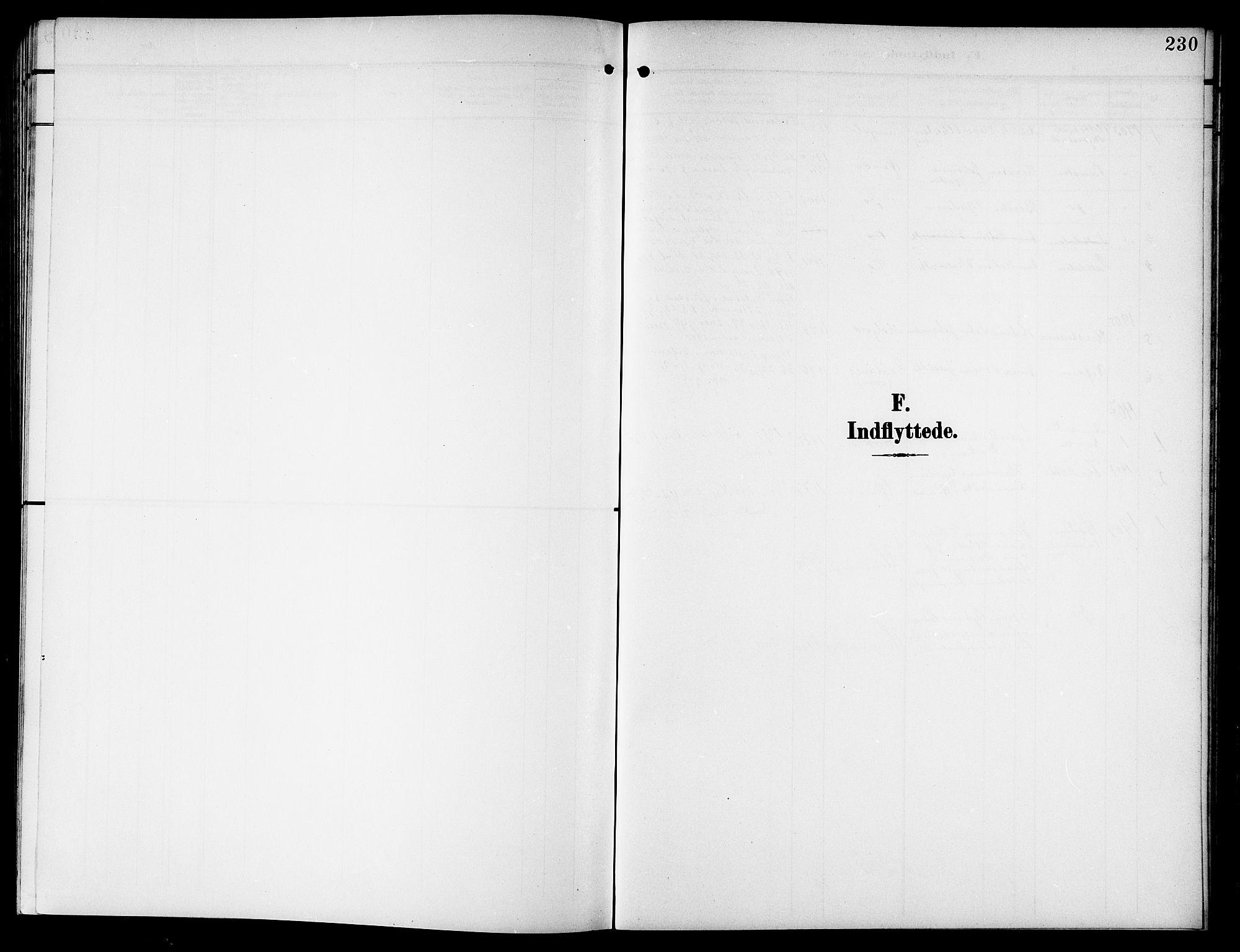 SAT, Ministerialprotokoller, klokkerbøker og fødselsregistre - Nordland, 846/L0647: Klokkerbok nr. 846C05, 1902-1916, s. 230