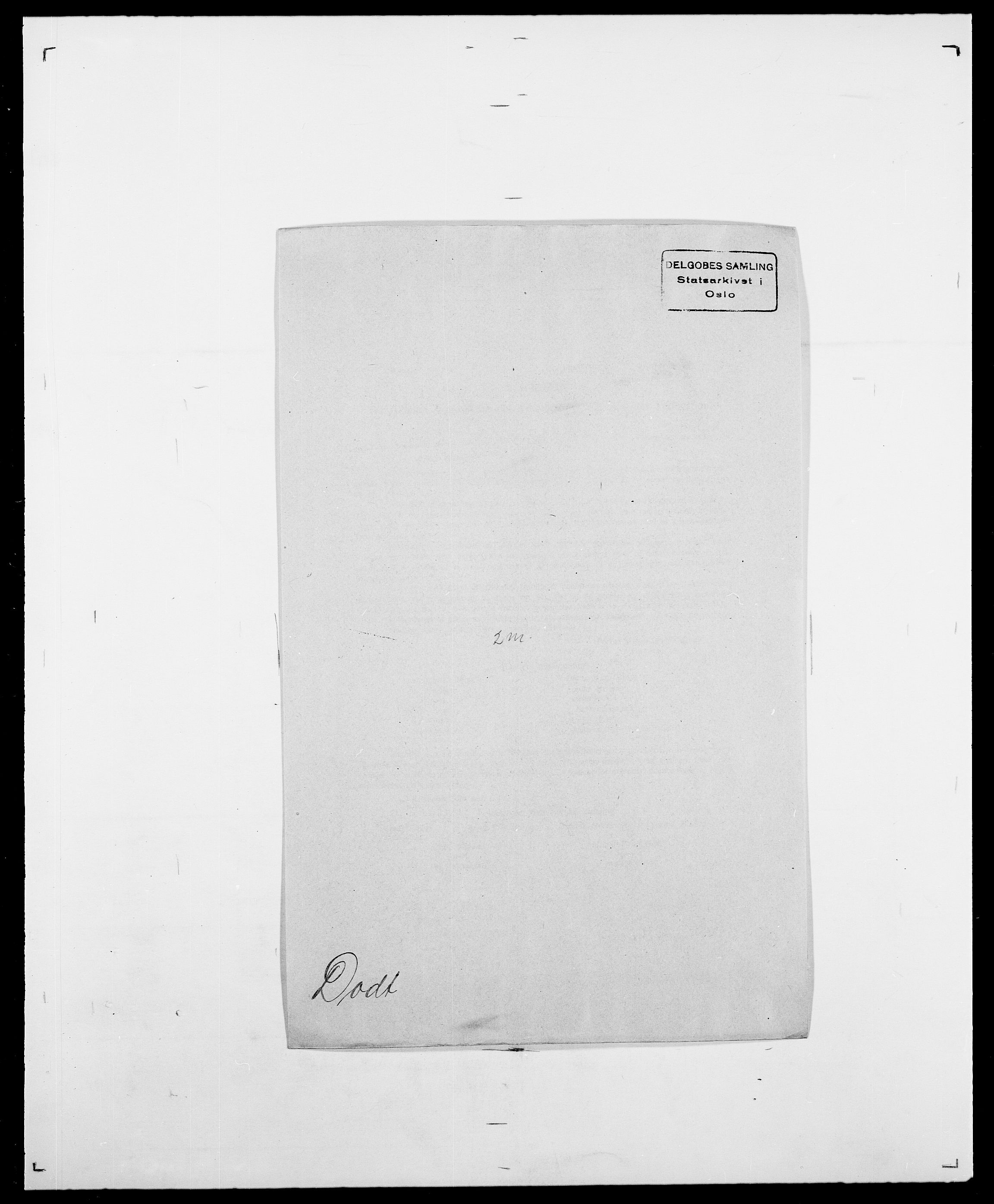 SAO, Delgobe, Charles Antoine - samling, D/Da/L0009: Dahl - v. Düren, s. 626