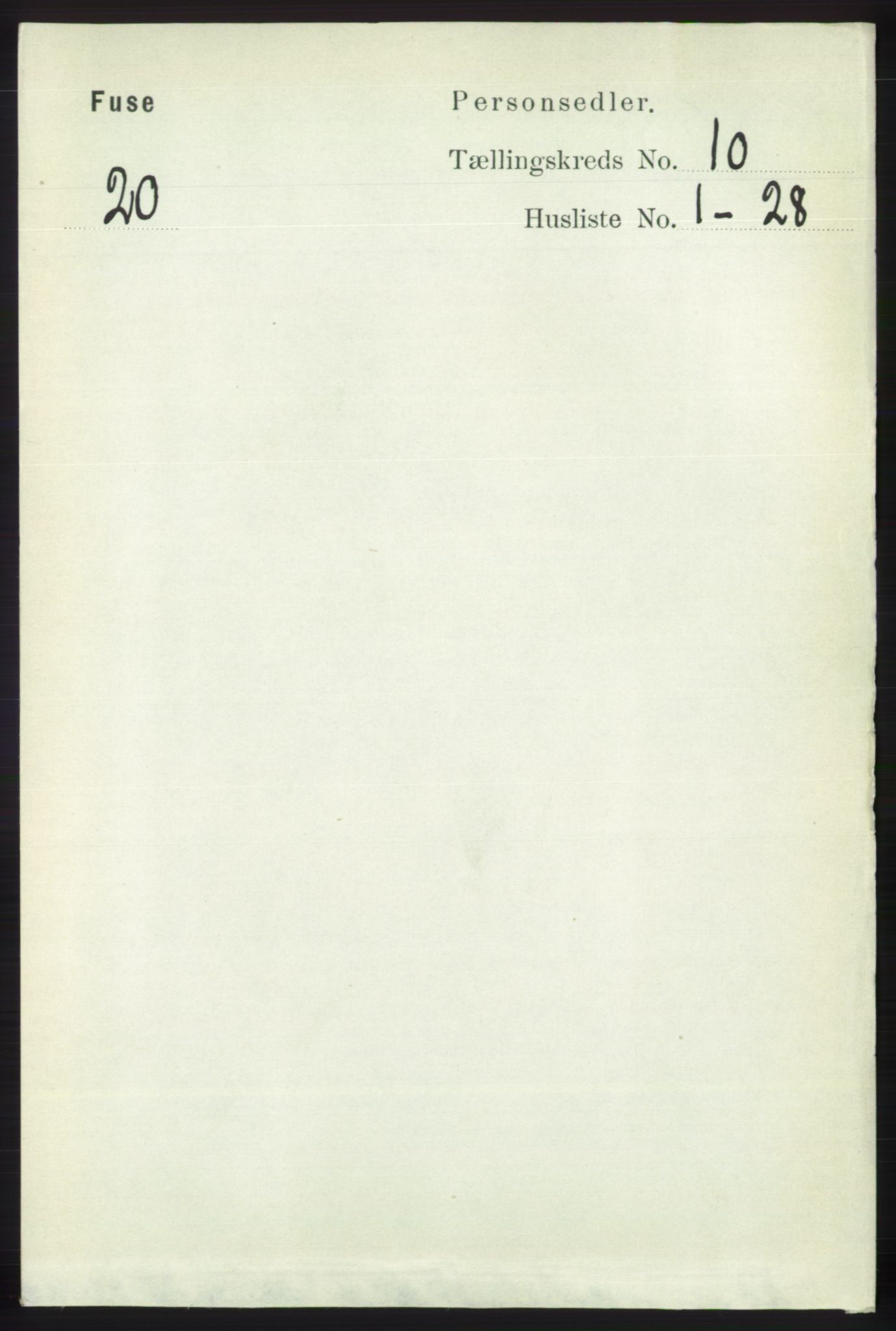 RA, Folketelling 1891 for 1241 Fusa herred, 1891, s. 1915