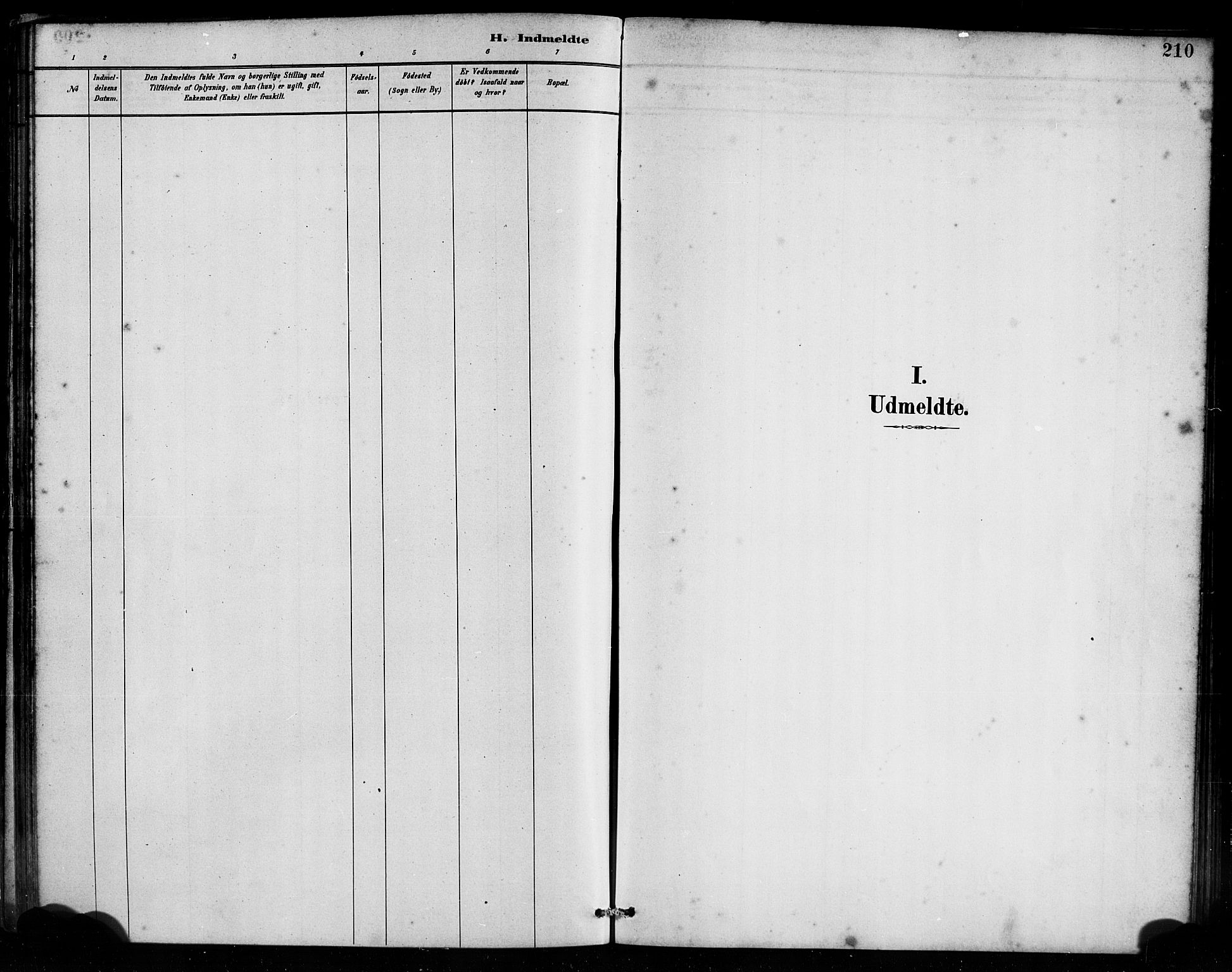 SAB, Bremanger Sokneprestembete, H/Haa: Ministerialbok nr. B 1, 1884-1895, s. 210