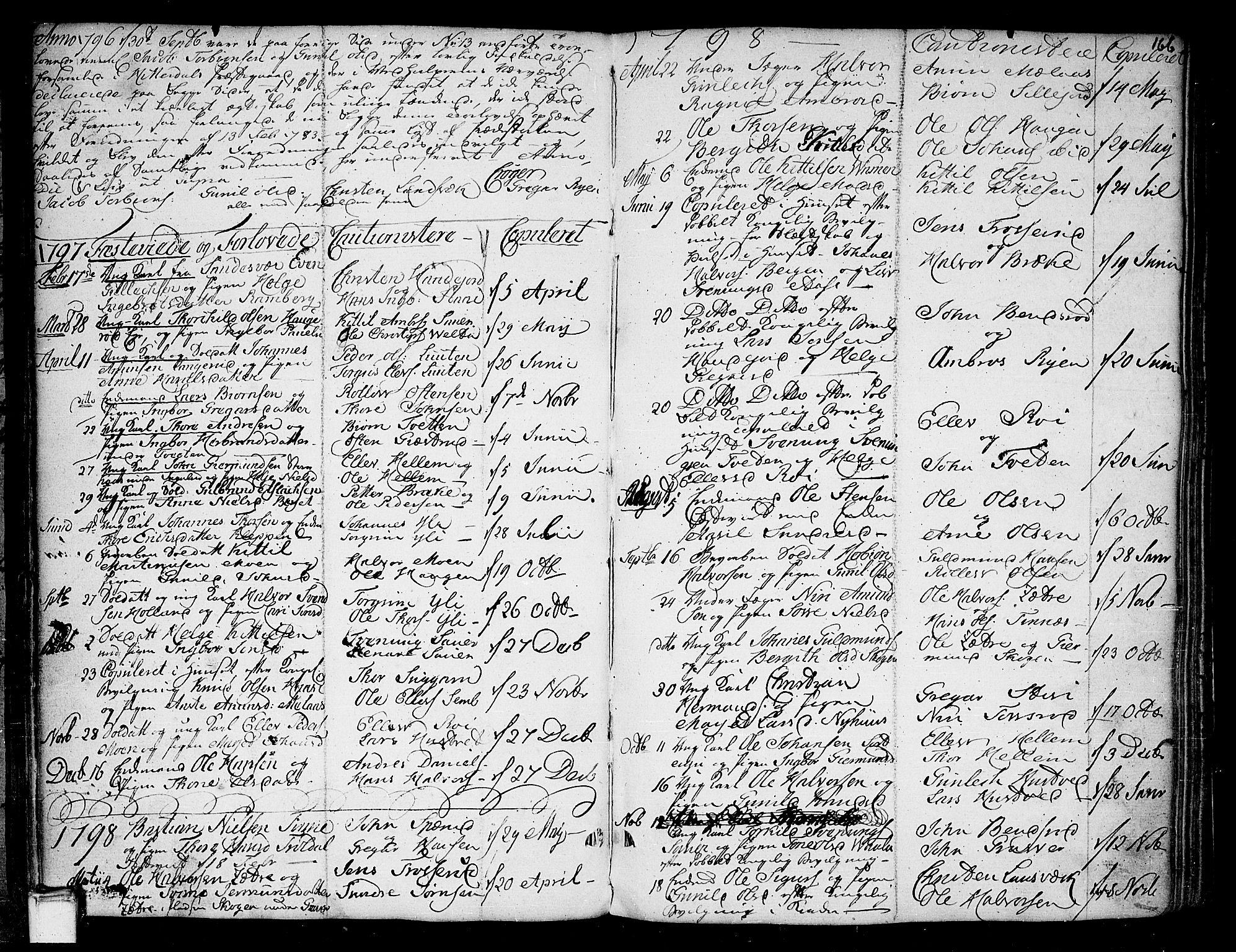 SAKO, Heddal kirkebøker, F/Fa/L0004: Ministerialbok nr. I 4, 1784-1814, s. 166