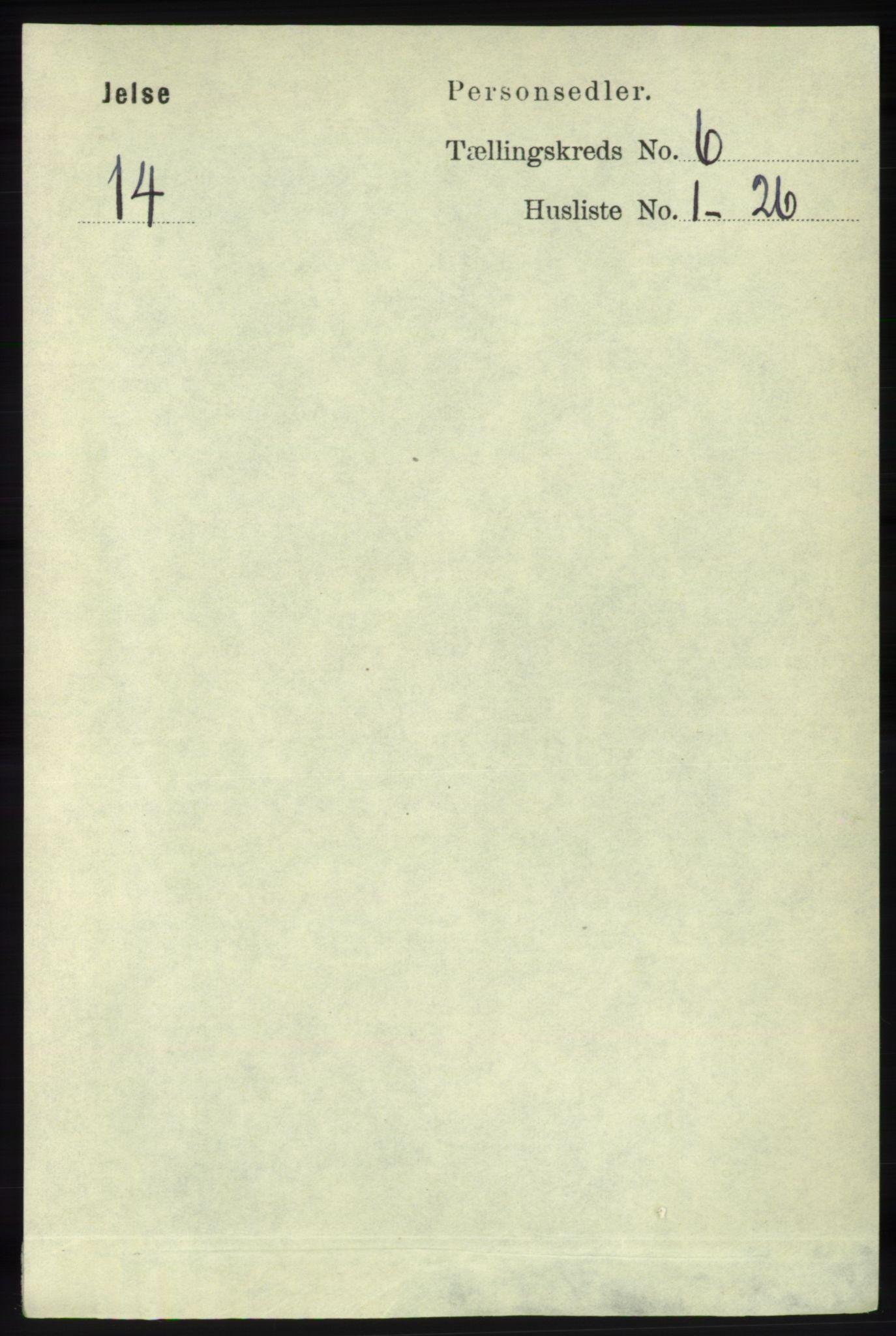 RA, Folketelling 1891 for 1138 Jelsa herred, 1891, s. 1210