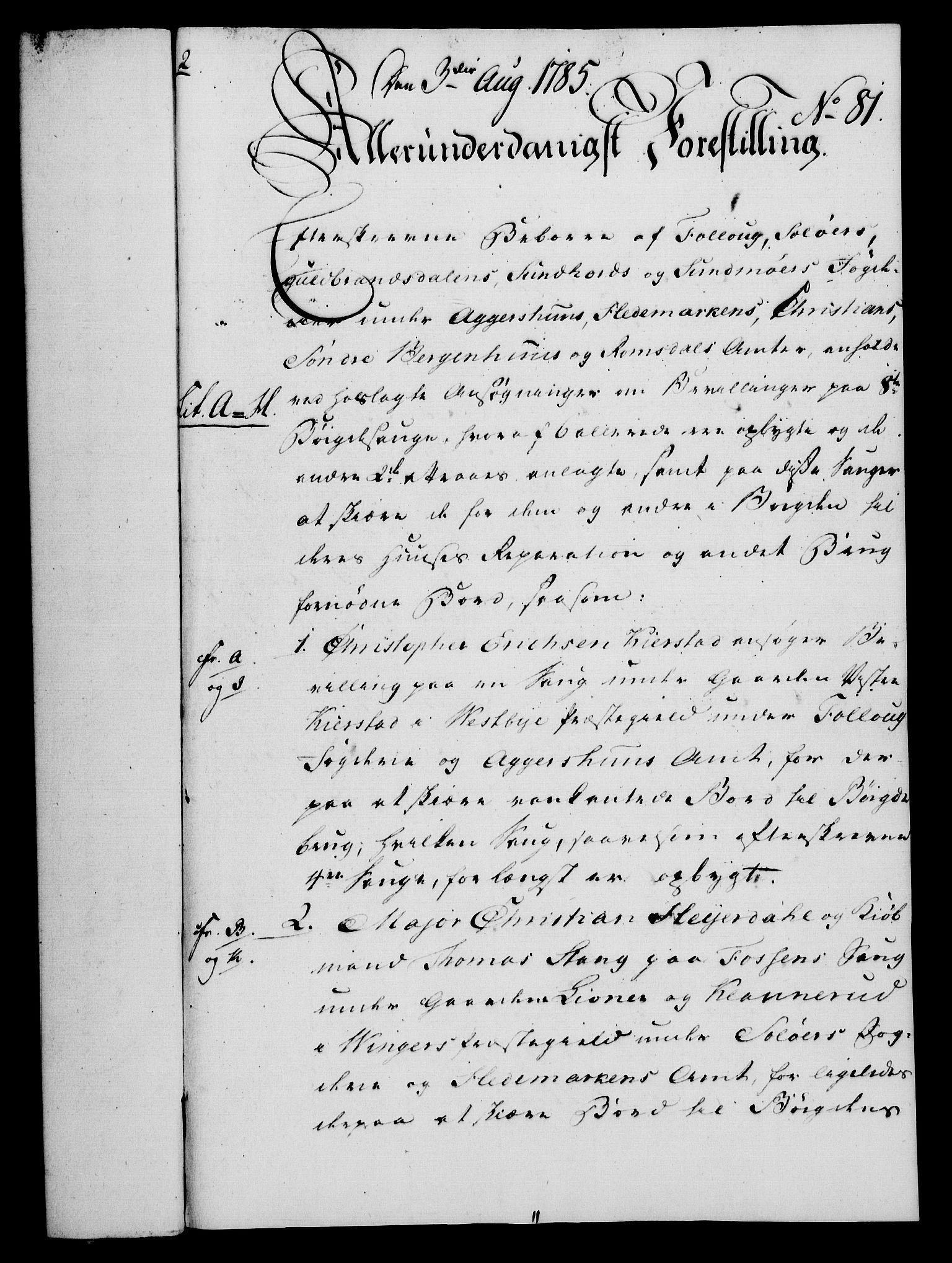 RA, Rentekammeret, Kammerkanselliet, G/Gf/Gfa/L0067: Norsk relasjons- og resolusjonsprotokoll (merket RK 52.67), 1785, s. 694