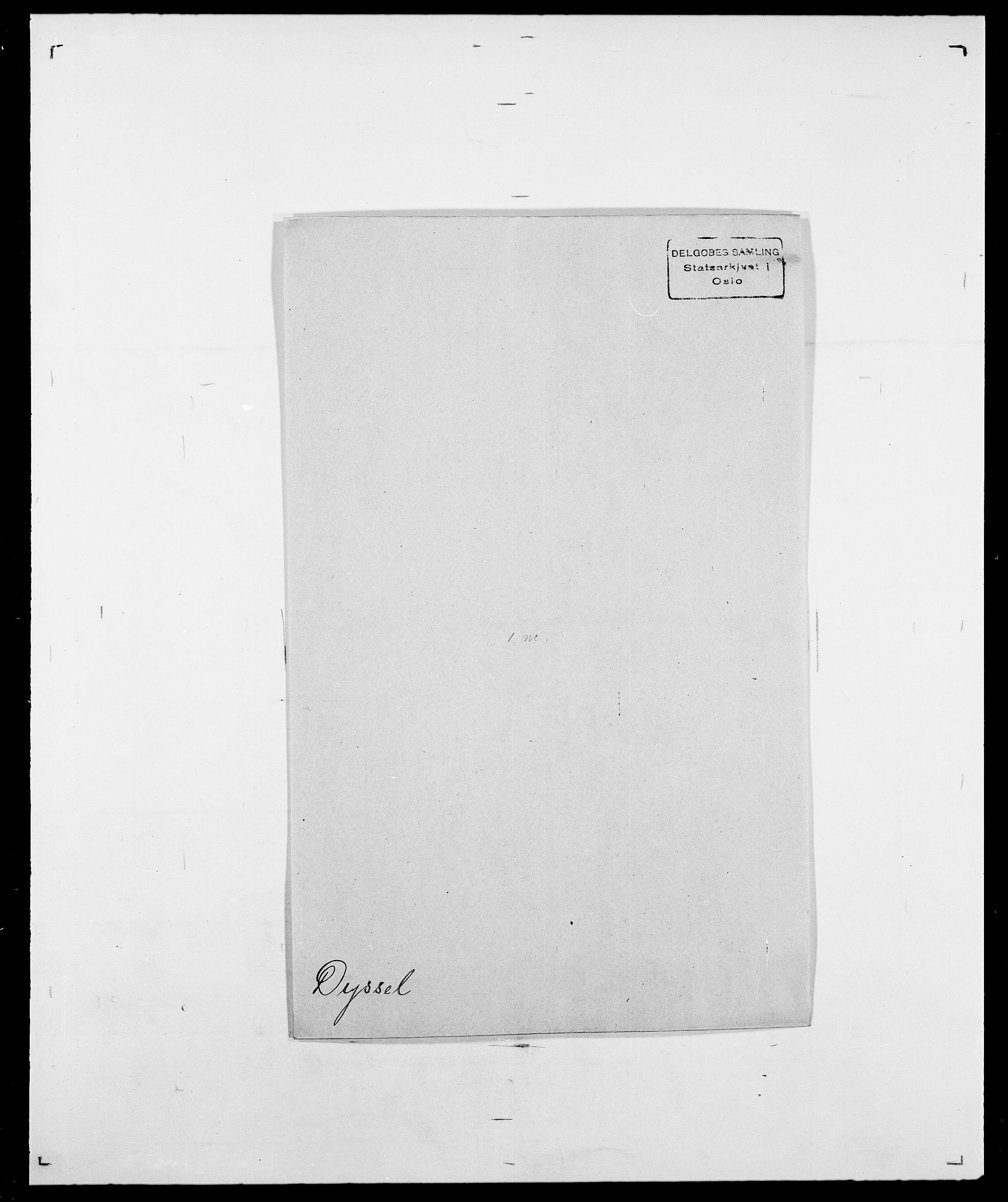 SAO, Delgobe, Charles Antoine - samling, D/Da/L0010: Dürendahl - Fagelund, s. 23