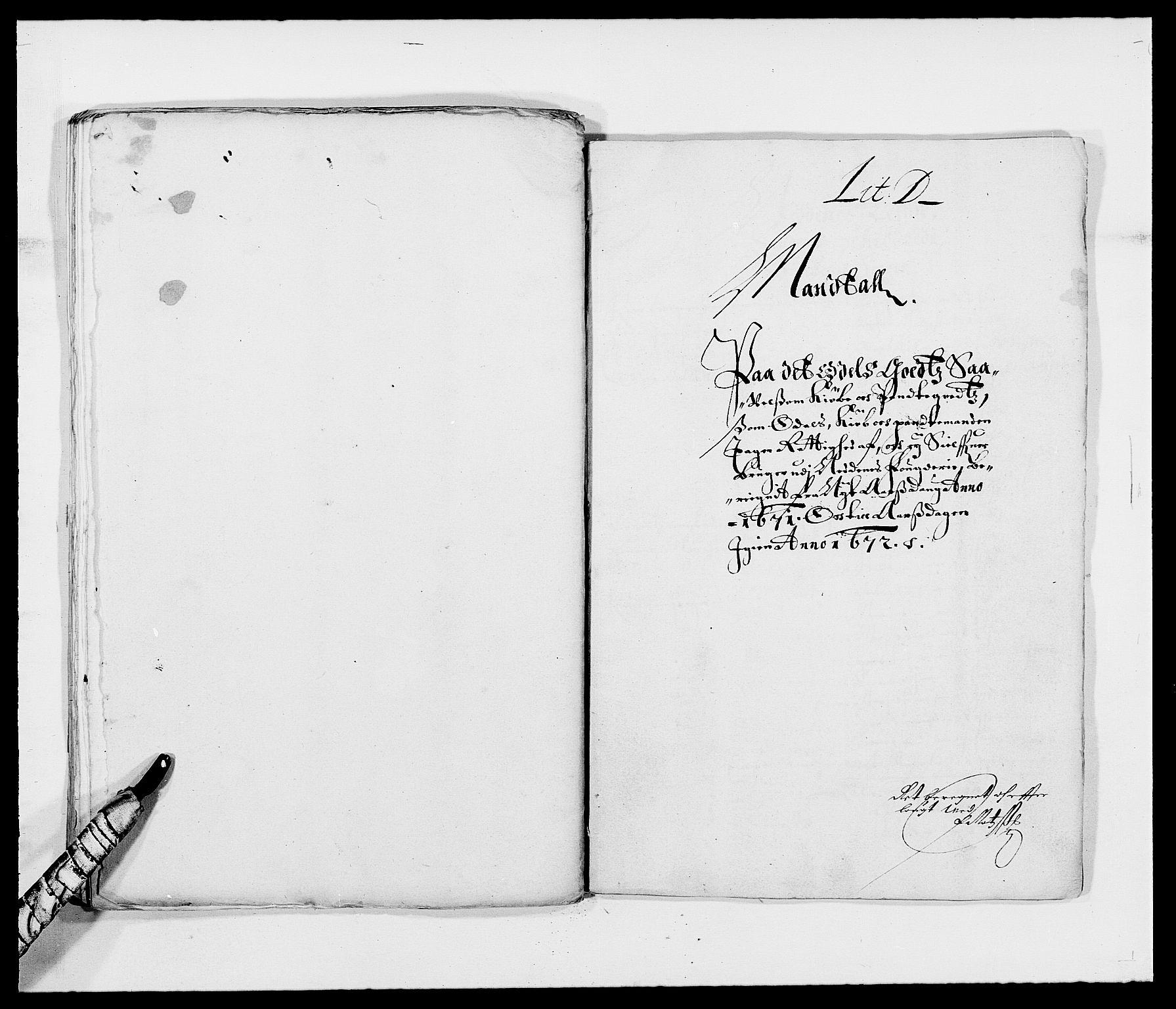 RA, Rentekammeret inntil 1814, Reviderte regnskaper, Fogderegnskap, R39/L2299: Fogderegnskap Nedenes, 1670-1671, s. 234