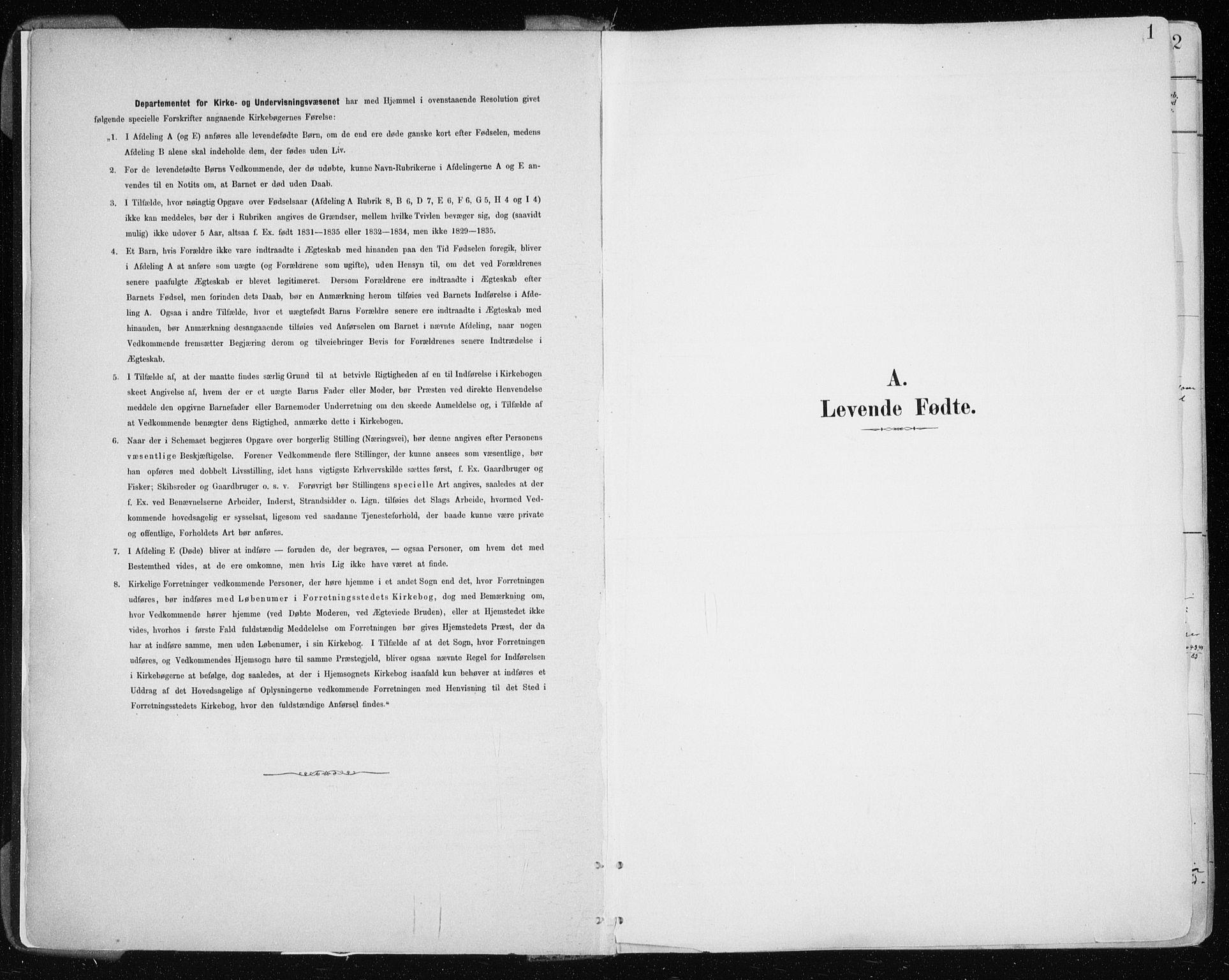 SATØ, Tromsøysund sokneprestkontor, G/Ga/L0005kirke: Ministerialbok nr. 5, 1888-1896, s. 1