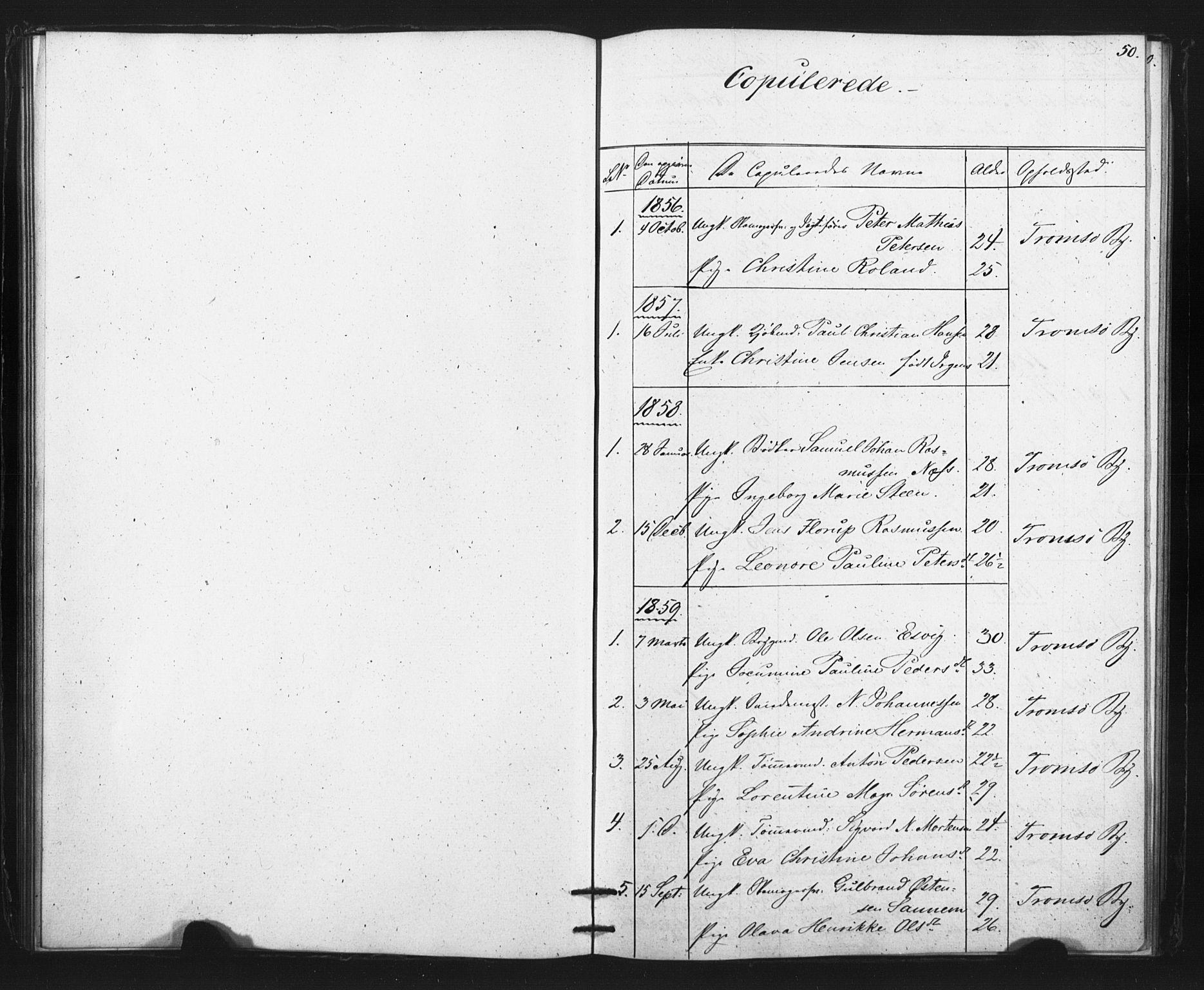 SATØ, Tromsø sokneprestkontor/stiftsprosti/domprosti, G/Ge/L0067: Dissenterprotokoll nr. 67, 1856-1882, s. 50