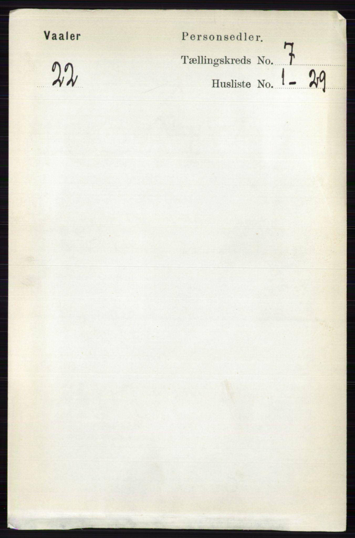 RA, Folketelling 1891 for 0426 Våler herred, 1891, s. 2924
