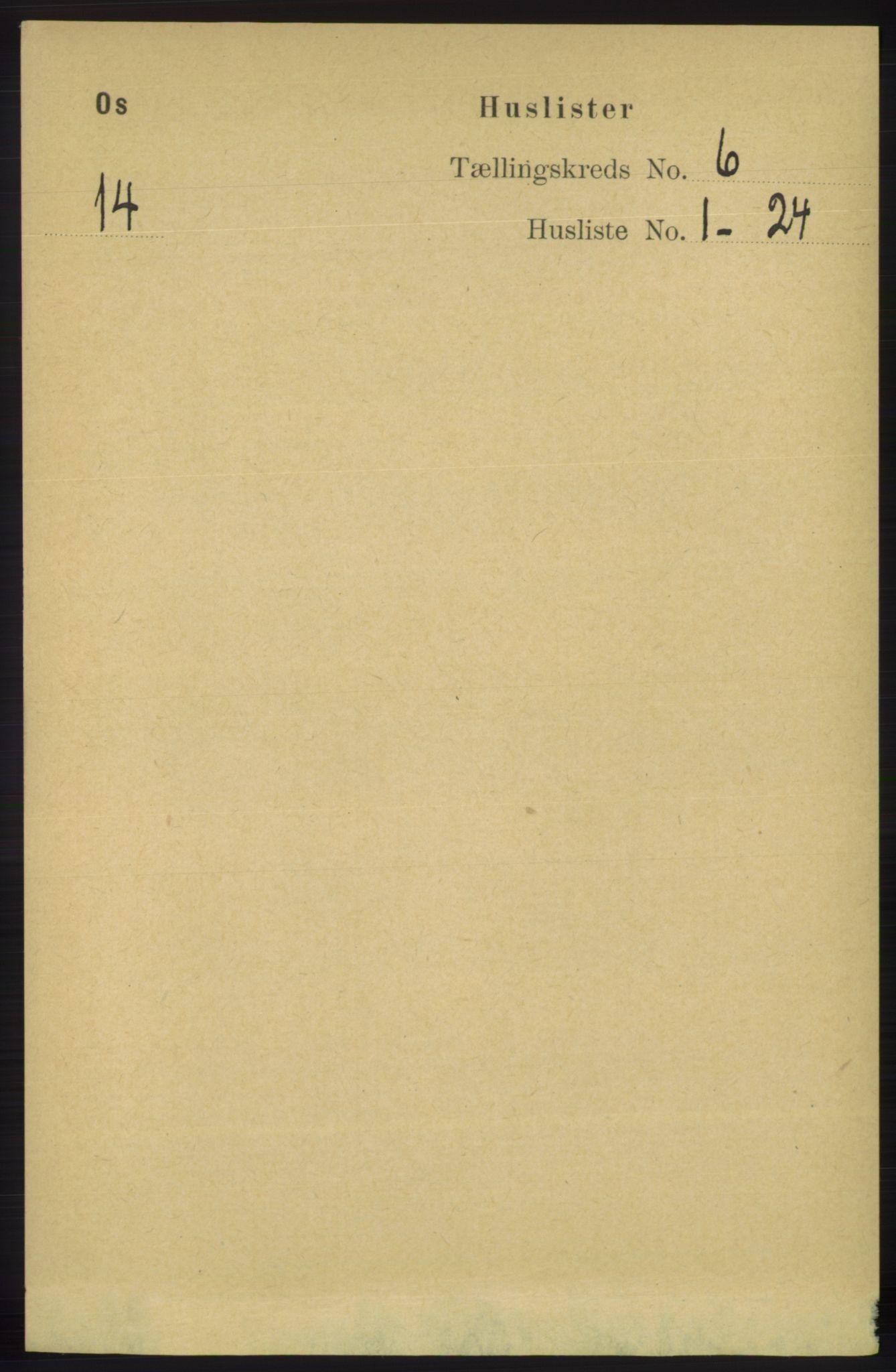 RA, Folketelling 1891 for 1243 Os herred, 1891, s. 1404