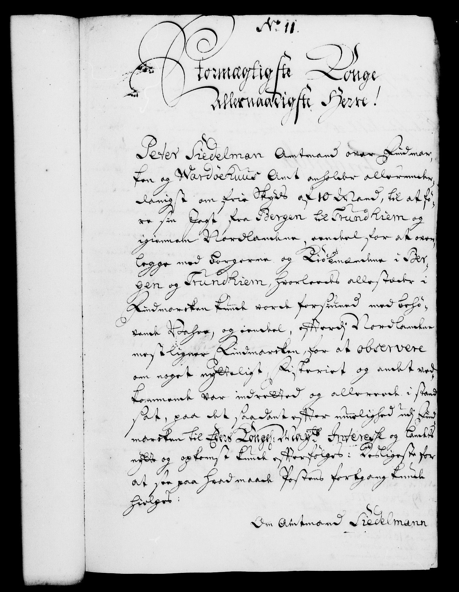 RA, Rentekammeret, Kammerkanselliet, G/Gf/Gfa/L0005: Norsk relasjons- og resolusjonsprotokoll (merket RK 52.5), 1722, s. 65
