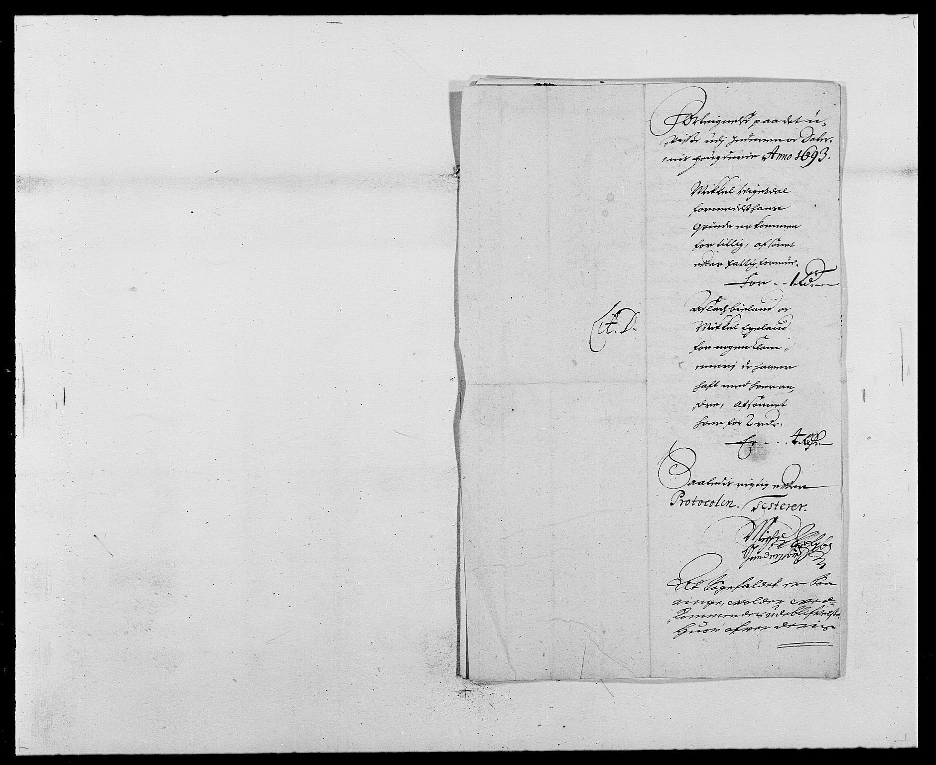 RA, Rentekammeret inntil 1814, Reviderte regnskaper, Fogderegnskap, R46/L2727: Fogderegnskap Jæren og Dalane, 1690-1693, s. 274
