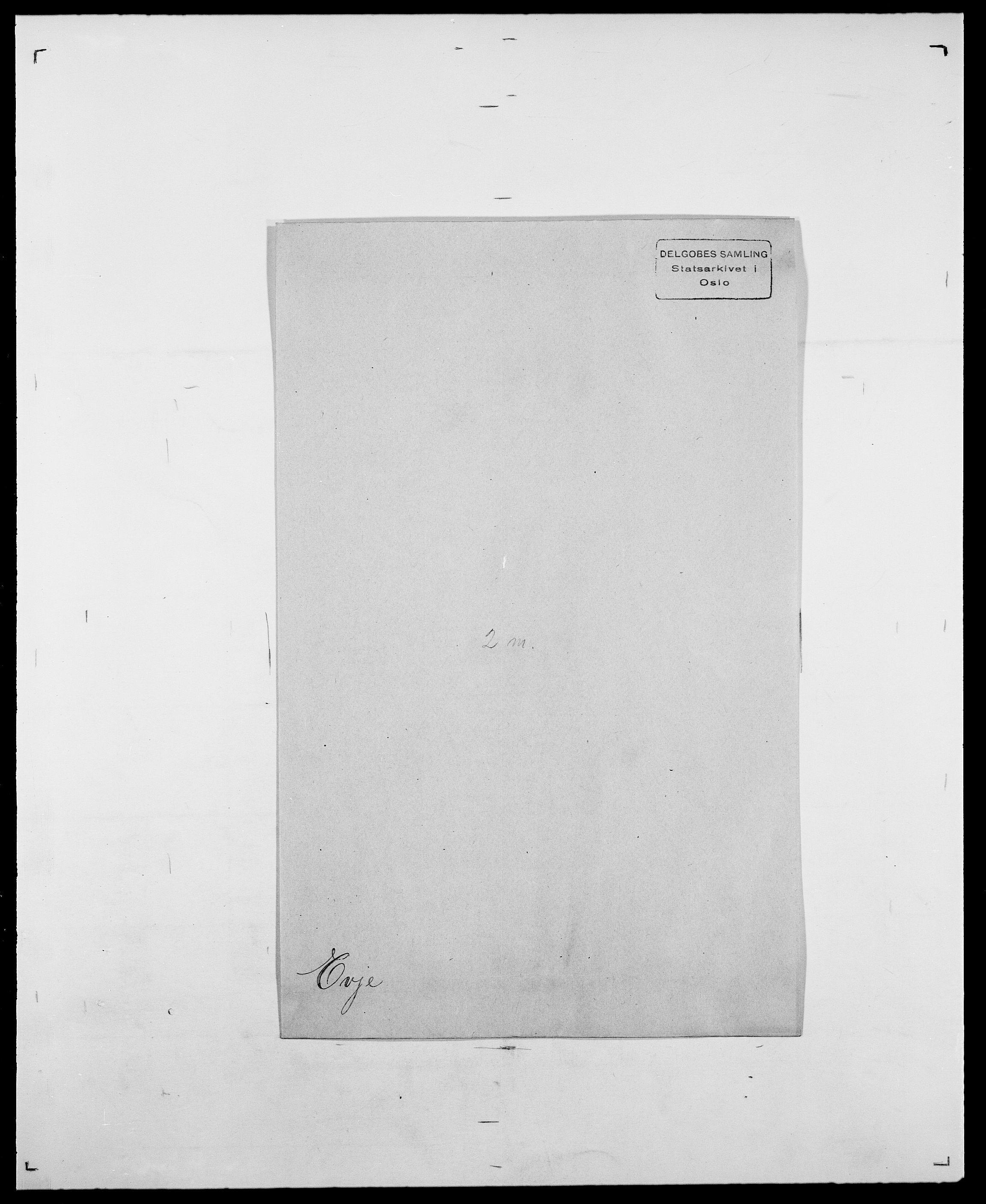 SAO, Delgobe, Charles Antoine - samling, D/Da/L0010: Dürendahl - Fagelund, s. 686