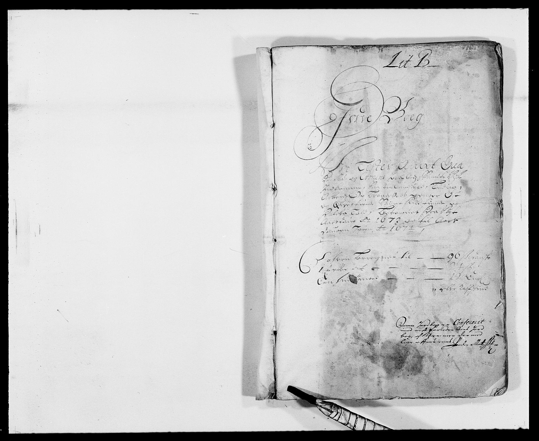RA, Rentekammeret inntil 1814, Reviderte regnskaper, Fogderegnskap, R41/L2528: Fogderegnskap Lista, 1673-1674, s. 9