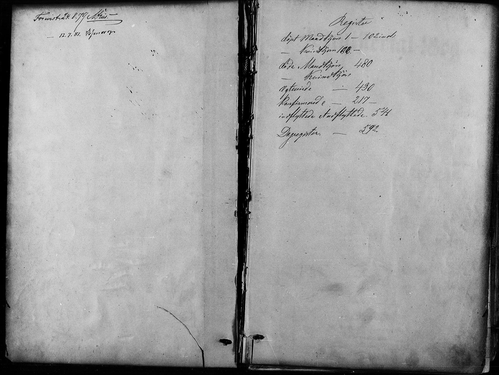 SAO, Nes prestekontor Kirkebøker, F/Fa/L0009: Ministerialbok nr. I 9, 1875-1882