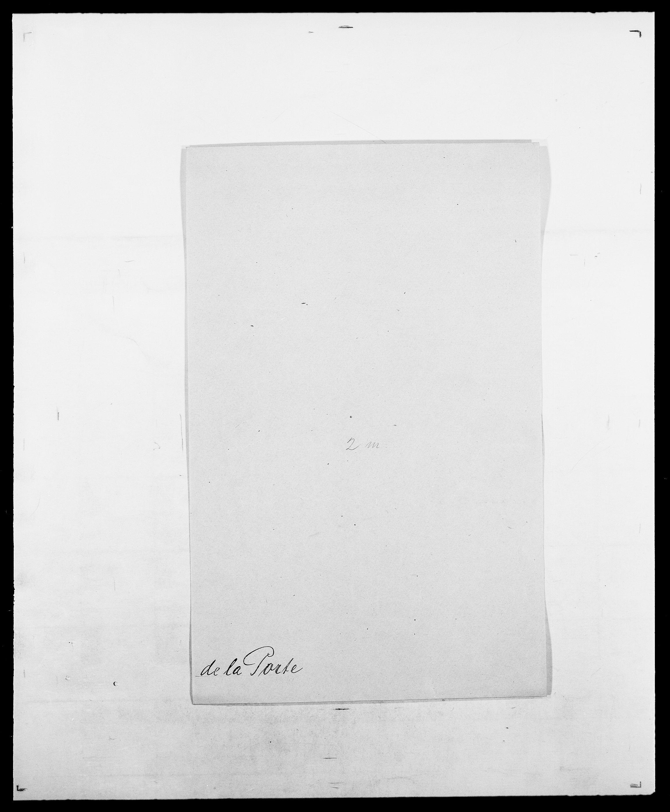 SAO, Delgobe, Charles Antoine - samling, D/Da/L0031: de Place - Raaum, s. 243