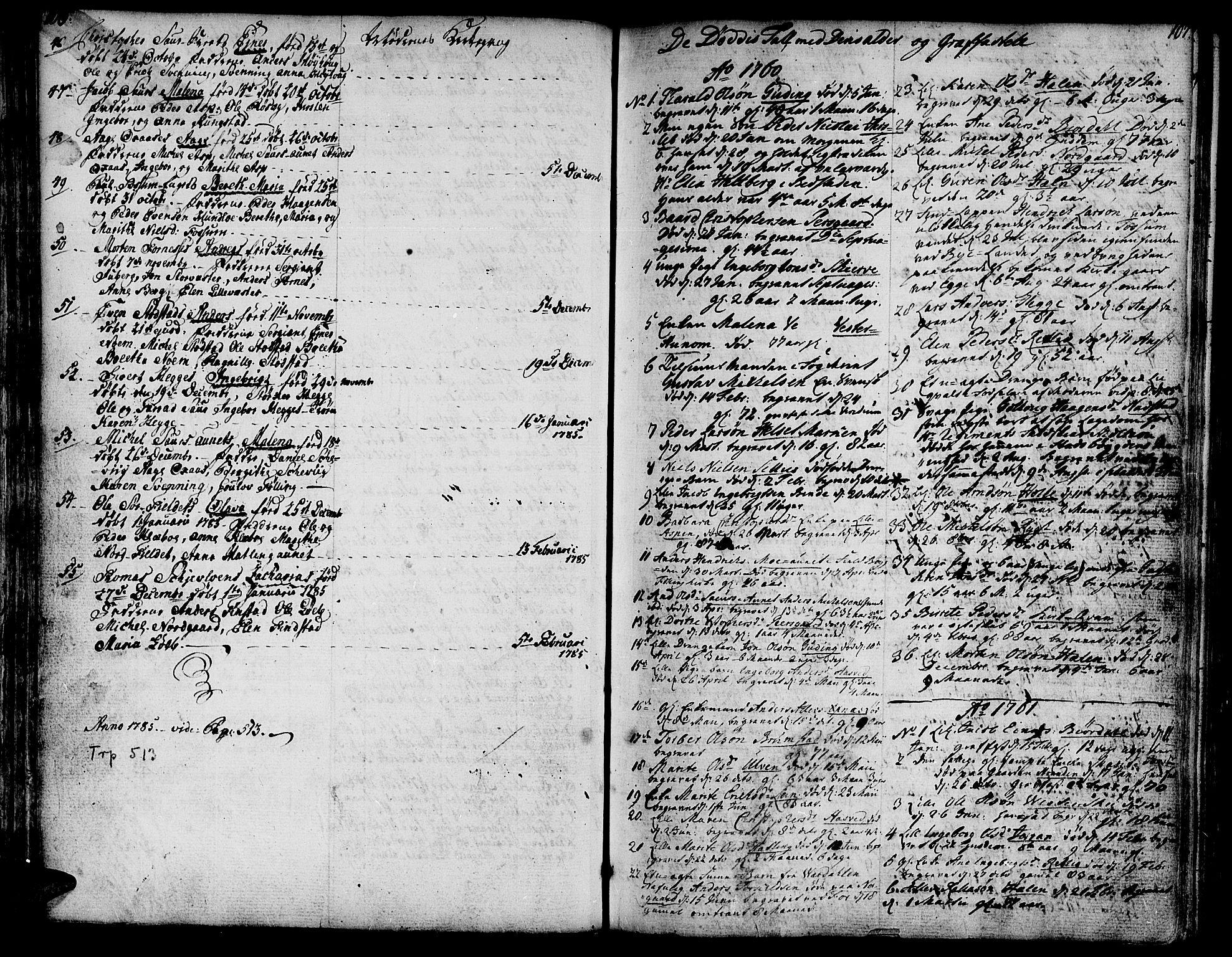 SAT, Ministerialprotokoller, klokkerbøker og fødselsregistre - Nord-Trøndelag, 746/L0440: Ministerialbok nr. 746A02, 1760-1815, s. 106-107