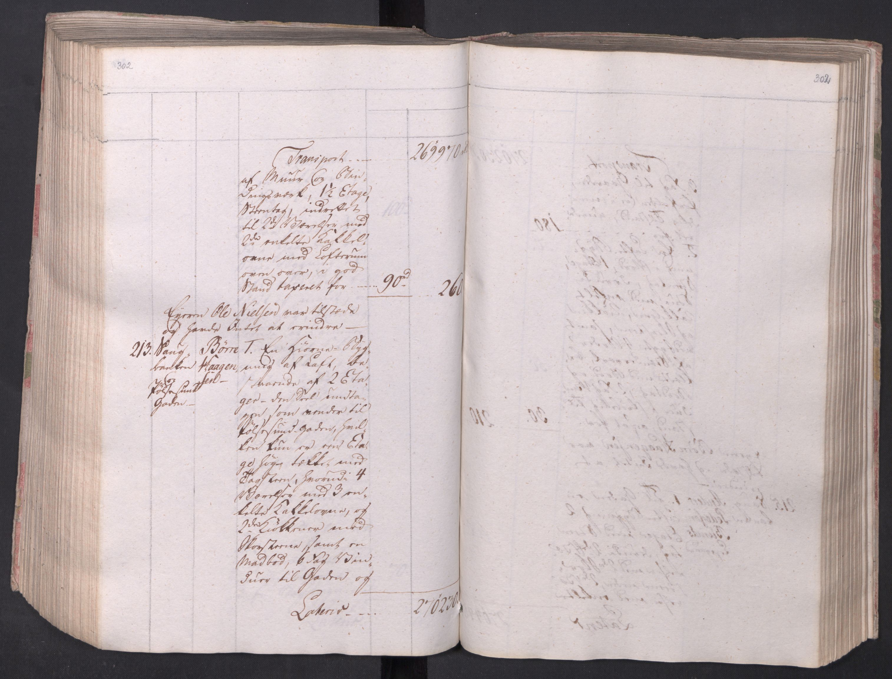 SAO, Kristiania stiftamt, I/Ia/L0015: Branntakster, 1797, s. 302