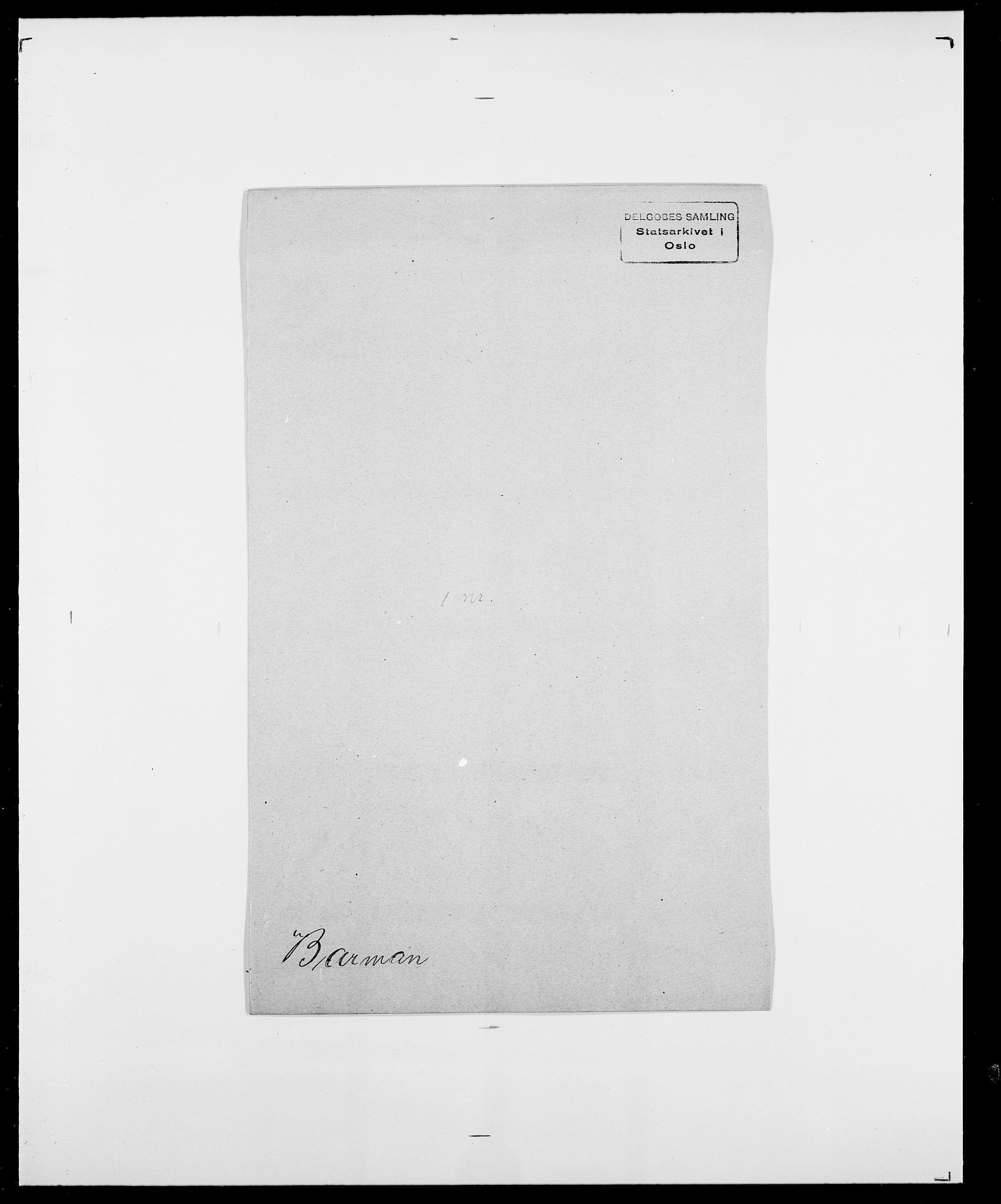 SAO, Delgobe, Charles Antoine - samling, D/Da/L0003: Barca - Bergen, s. 347