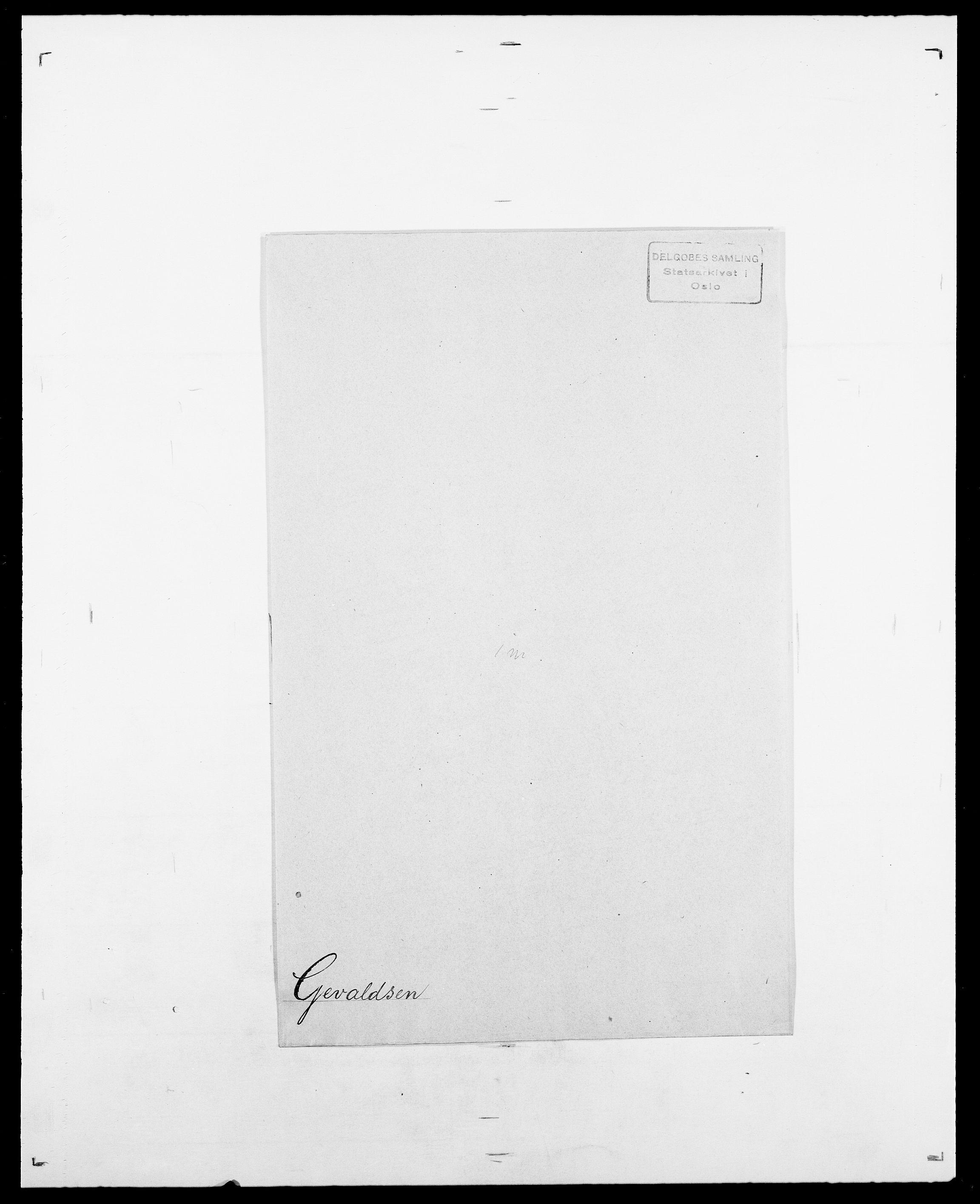 SAO, Delgobe, Charles Antoine - samling, D/Da/L0013: Forbos - Geving, s. 672