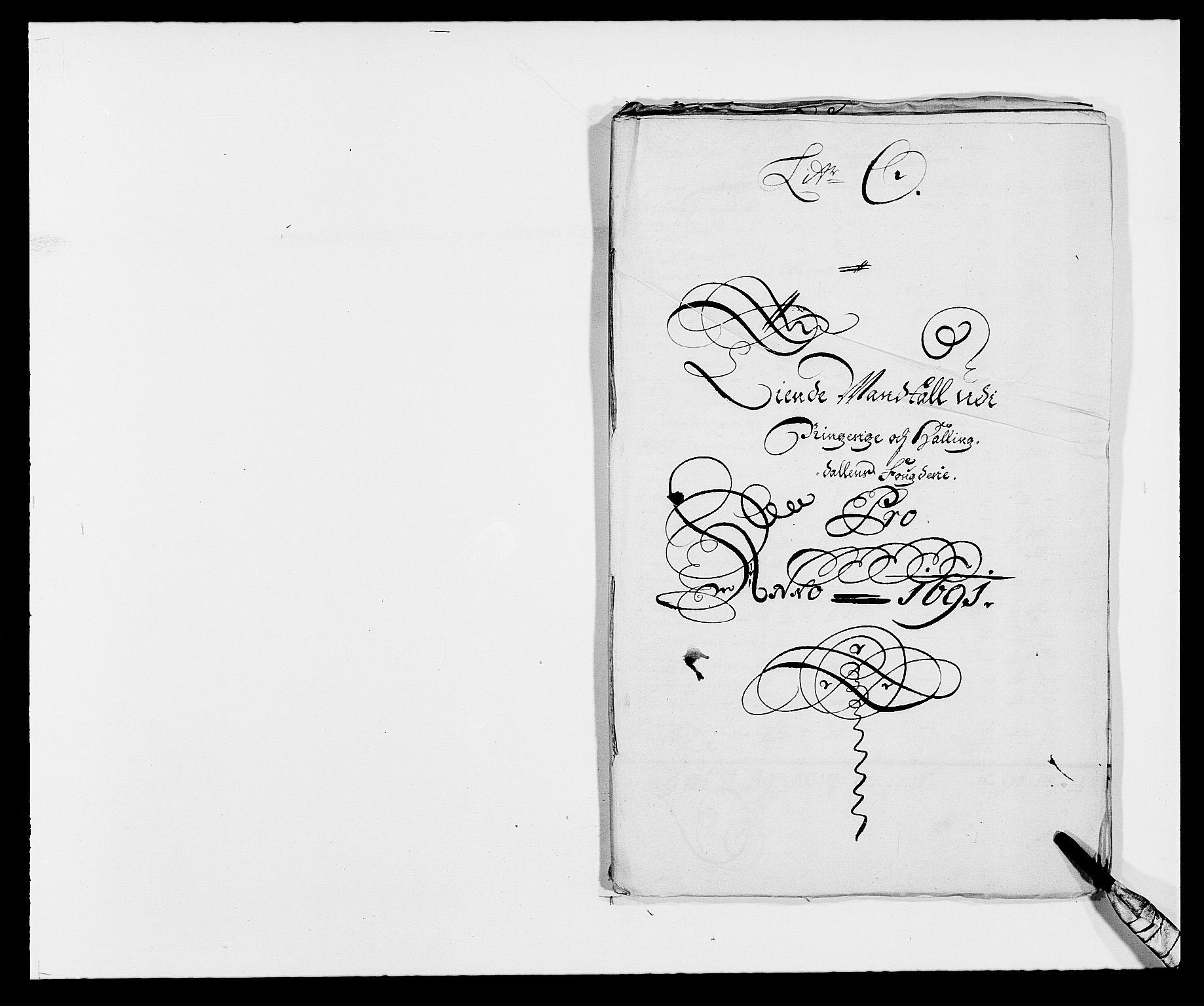 RA, Rentekammeret inntil 1814, Reviderte regnskaper, Fogderegnskap, R21/L1448: Fogderegnskap Ringerike og Hallingdal, 1690-1692, s. 288