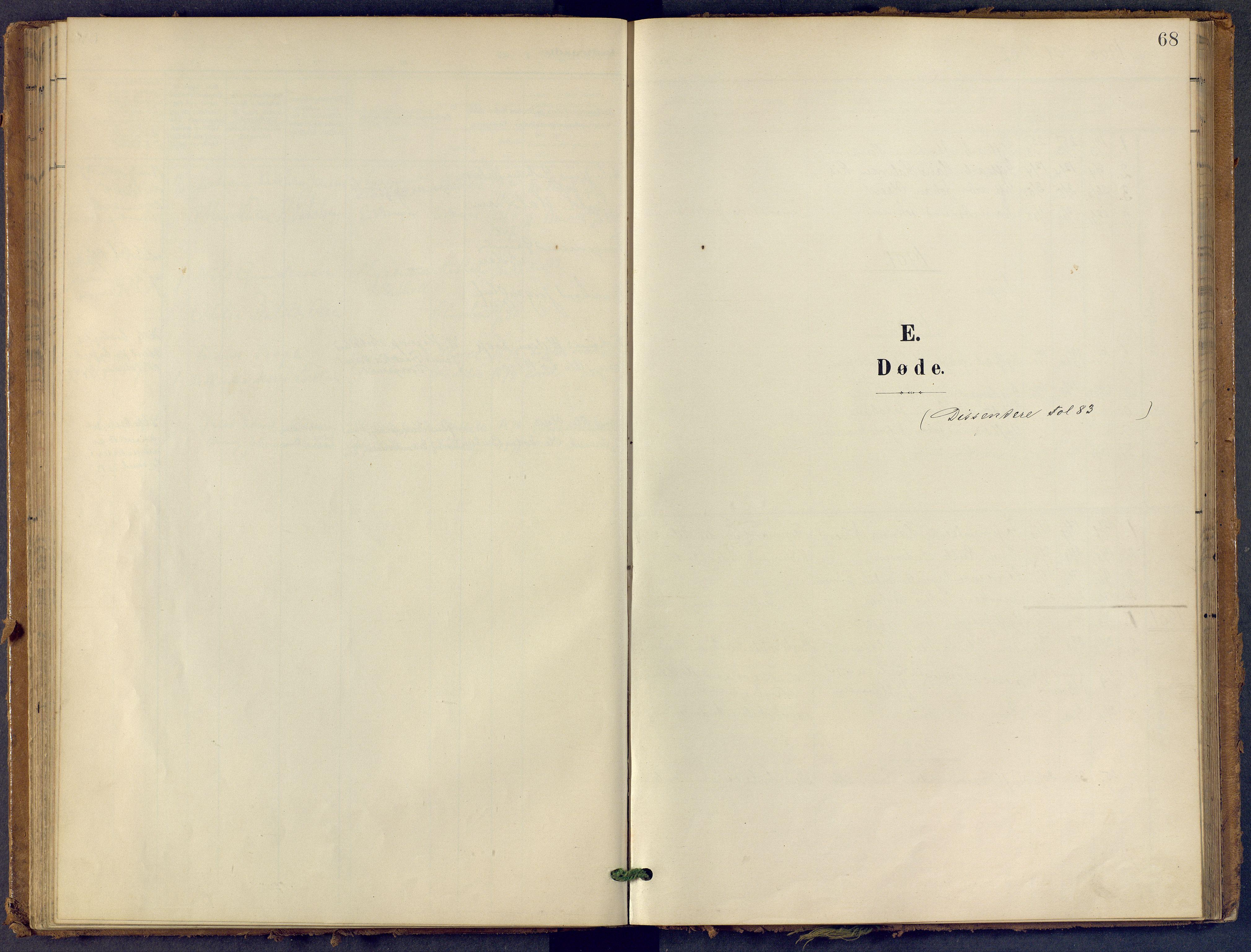 SAKO, Bamble kirkebøker, F/Fb/L0002: Ministerialbok nr. II 2, 1900-1921, s. 68