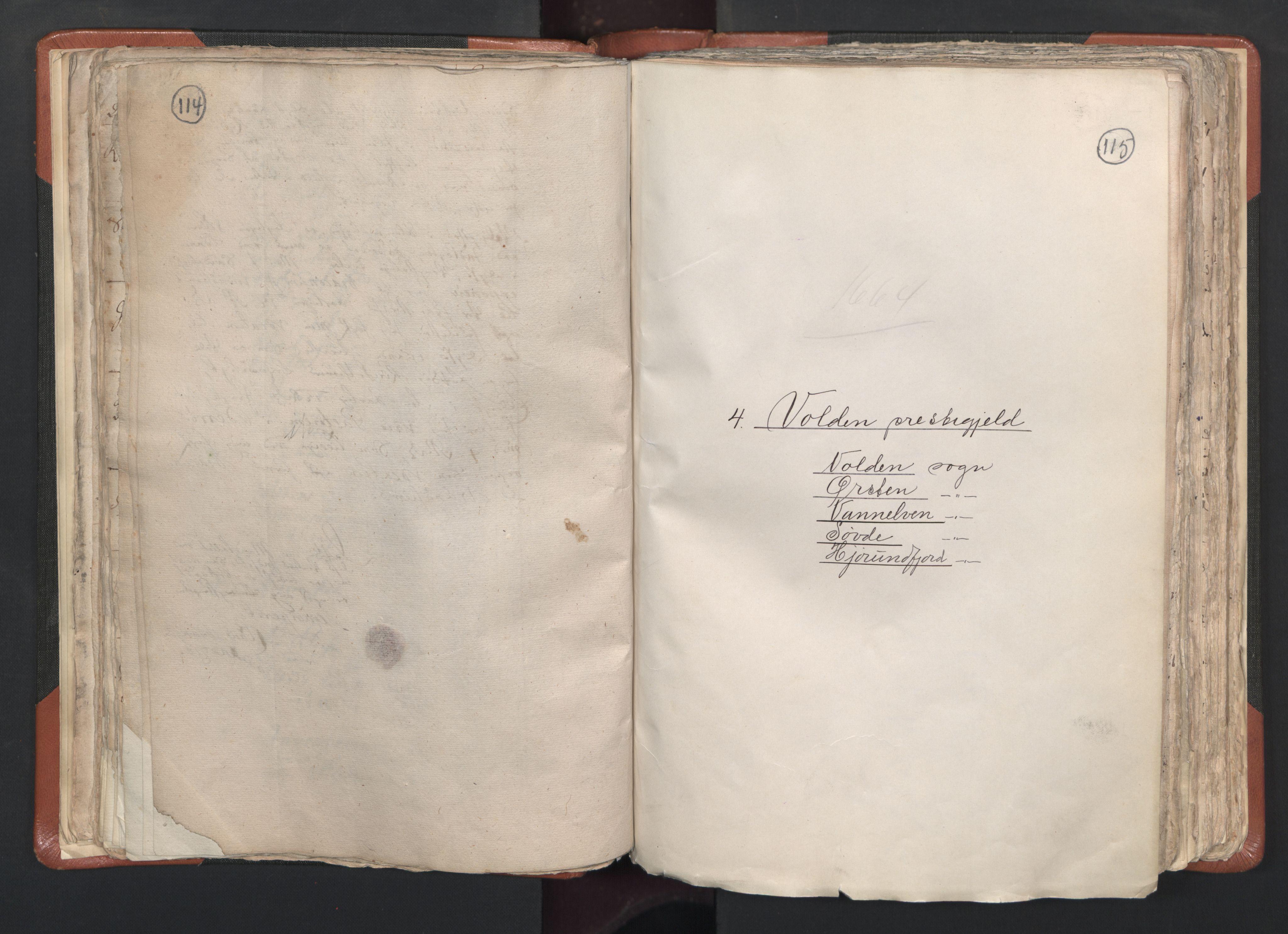 RA, Sogneprestenes manntall 1664-1666, nr. 26: Sunnmøre prosti, 1664-1666, s. 114-115