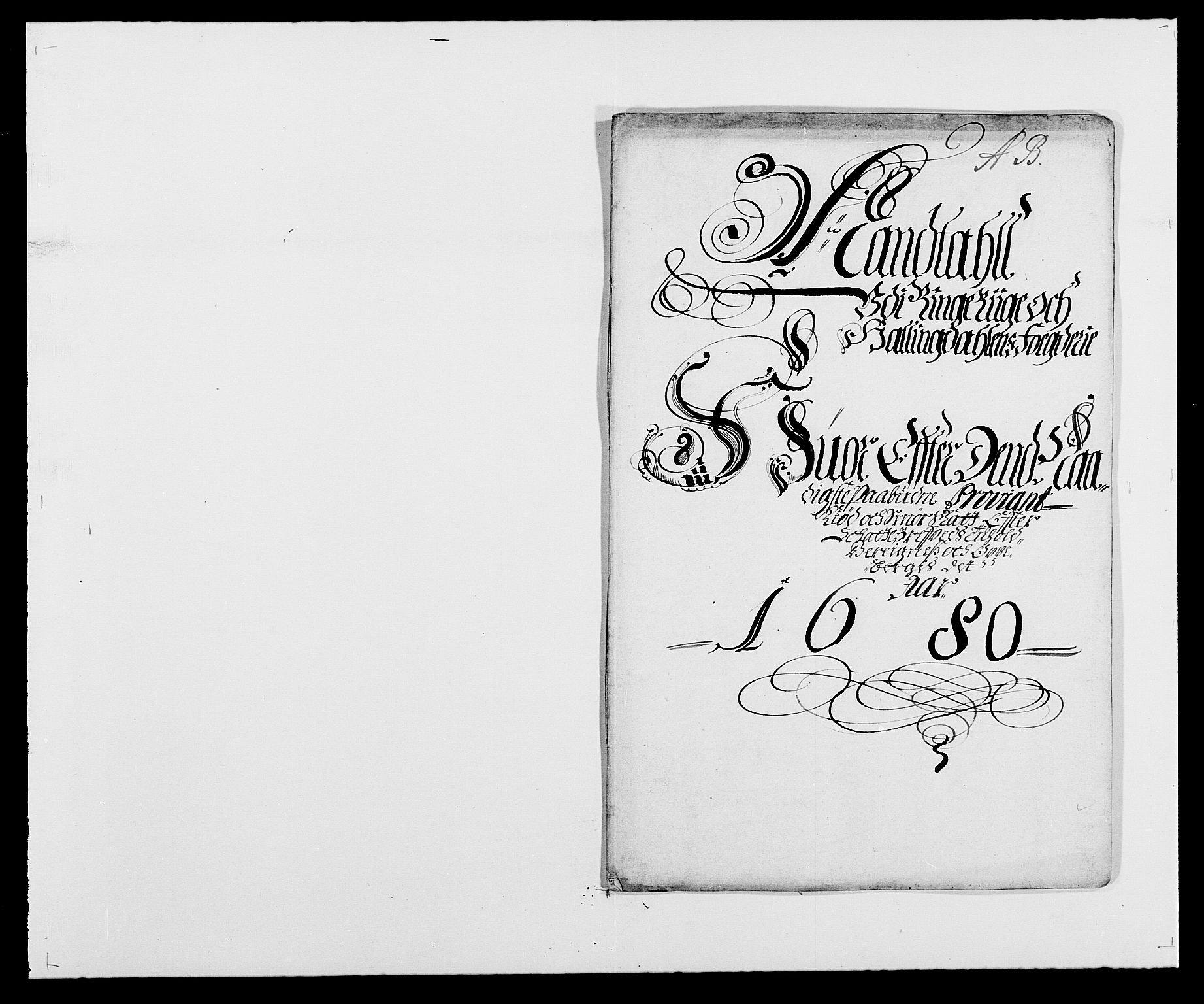 RA, Rentekammeret inntil 1814, Reviderte regnskaper, Fogderegnskap, R21/L1444: Fogderegnskap Ringerike og Hallingdal, 1680-1681, s. 80