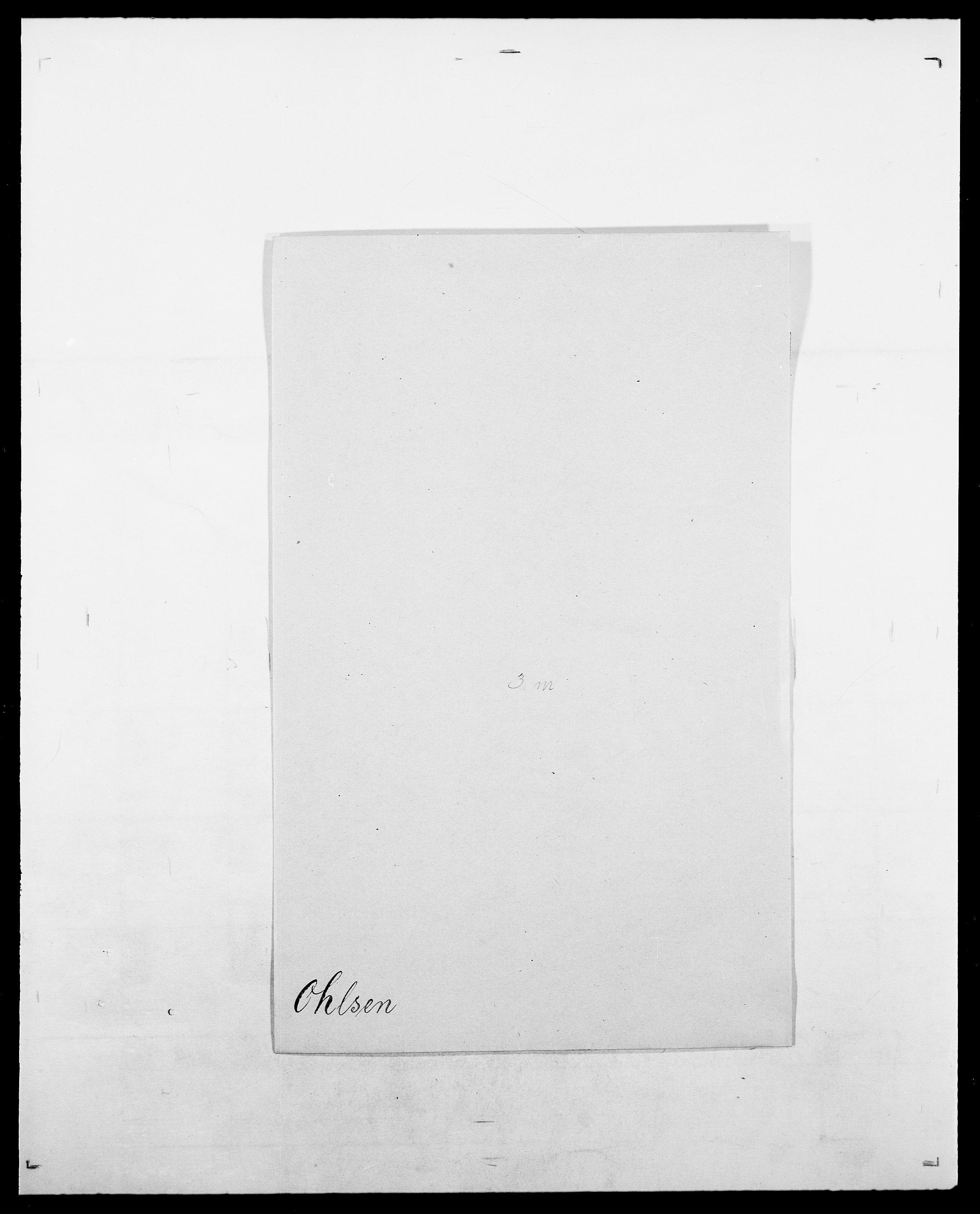 SAO, Delgobe, Charles Antoine - samling, D/Da/L0029: Obel - Oxholm, s. 65