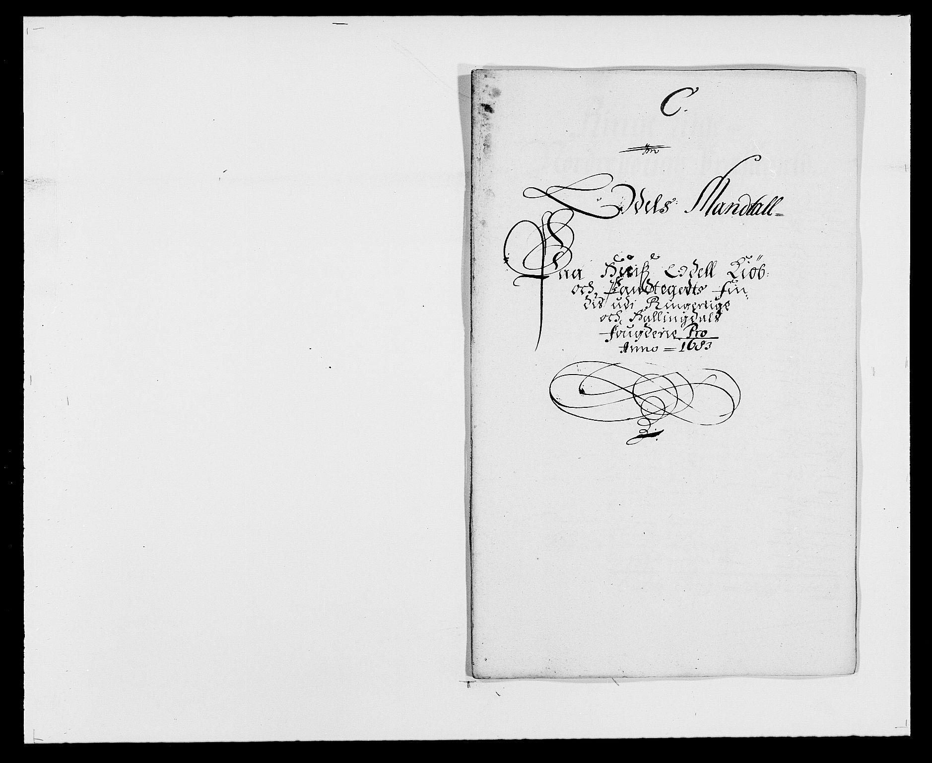 RA, Rentekammeret inntil 1814, Reviderte regnskaper, Fogderegnskap, R21/L1446: Fogderegnskap Ringerike og Hallingdal, 1683-1686, s. 39