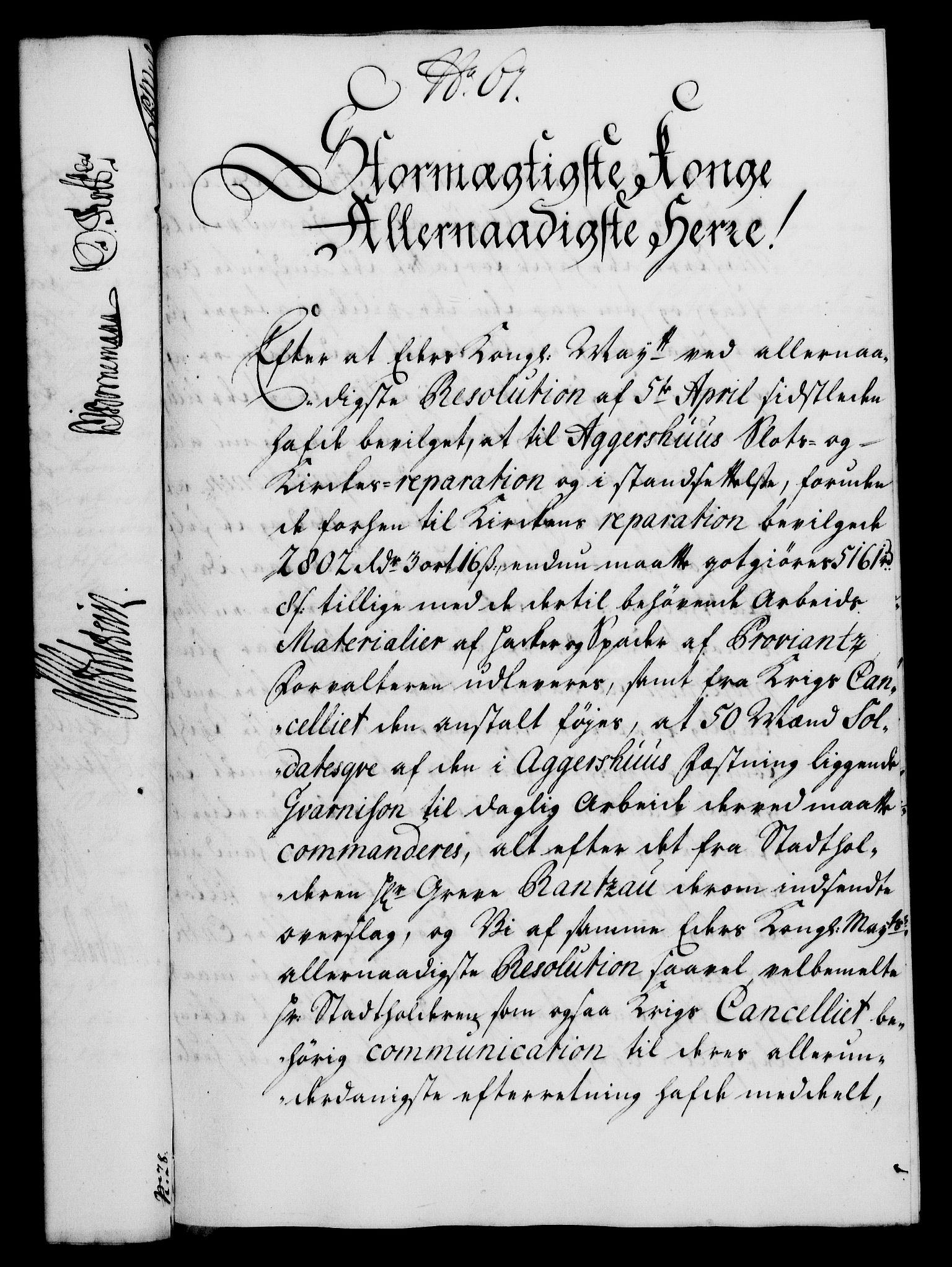 RA, Rentekammeret, Kammerkanselliet, G/Gf/Gfa/L0017: Norsk relasjons- og resolusjonsprotokoll (merket RK 52.17), 1734, s. 318