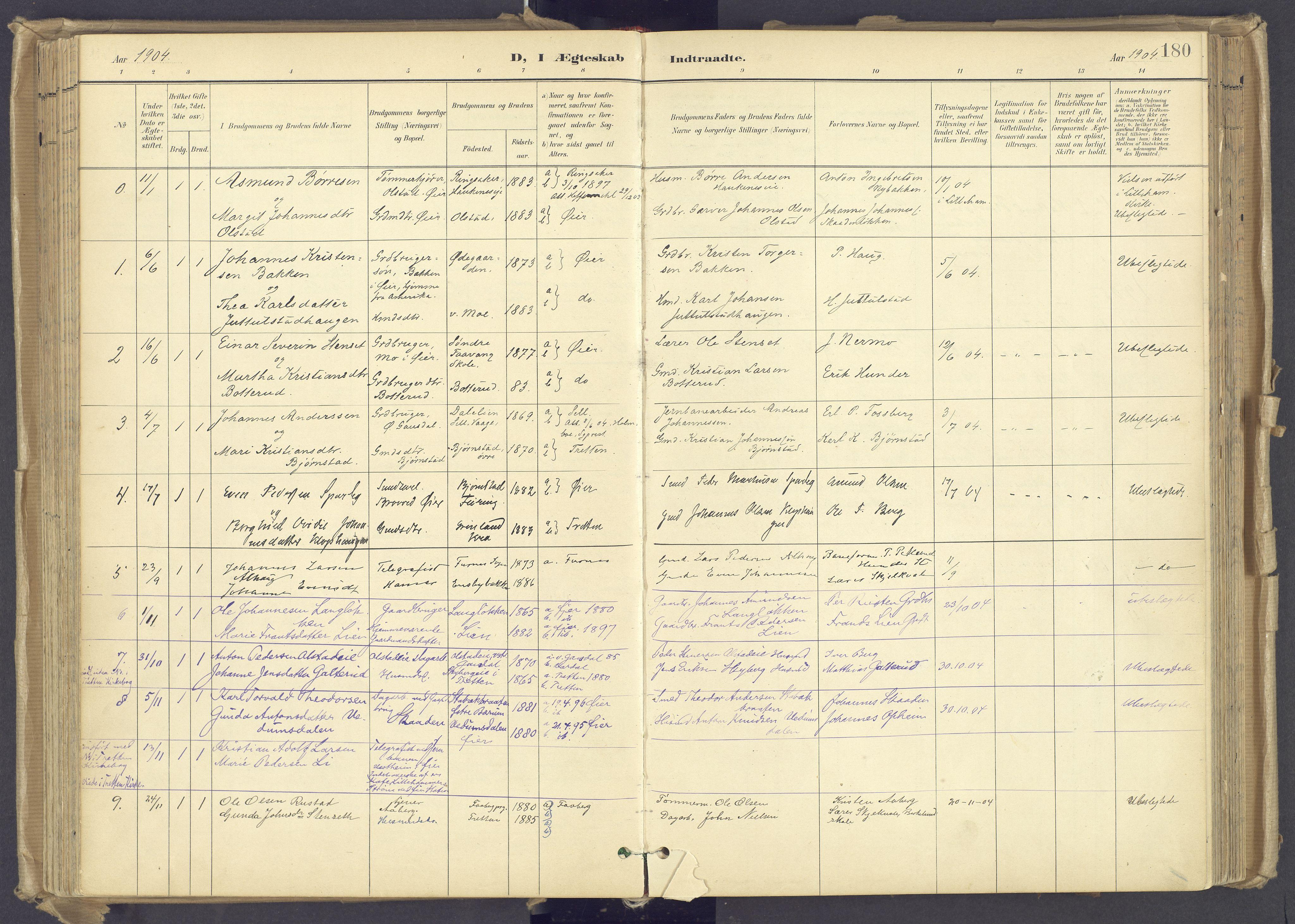 SAH, Øyer prestekontor, Ministerialbok nr. 12, 1897-1920, s. 180